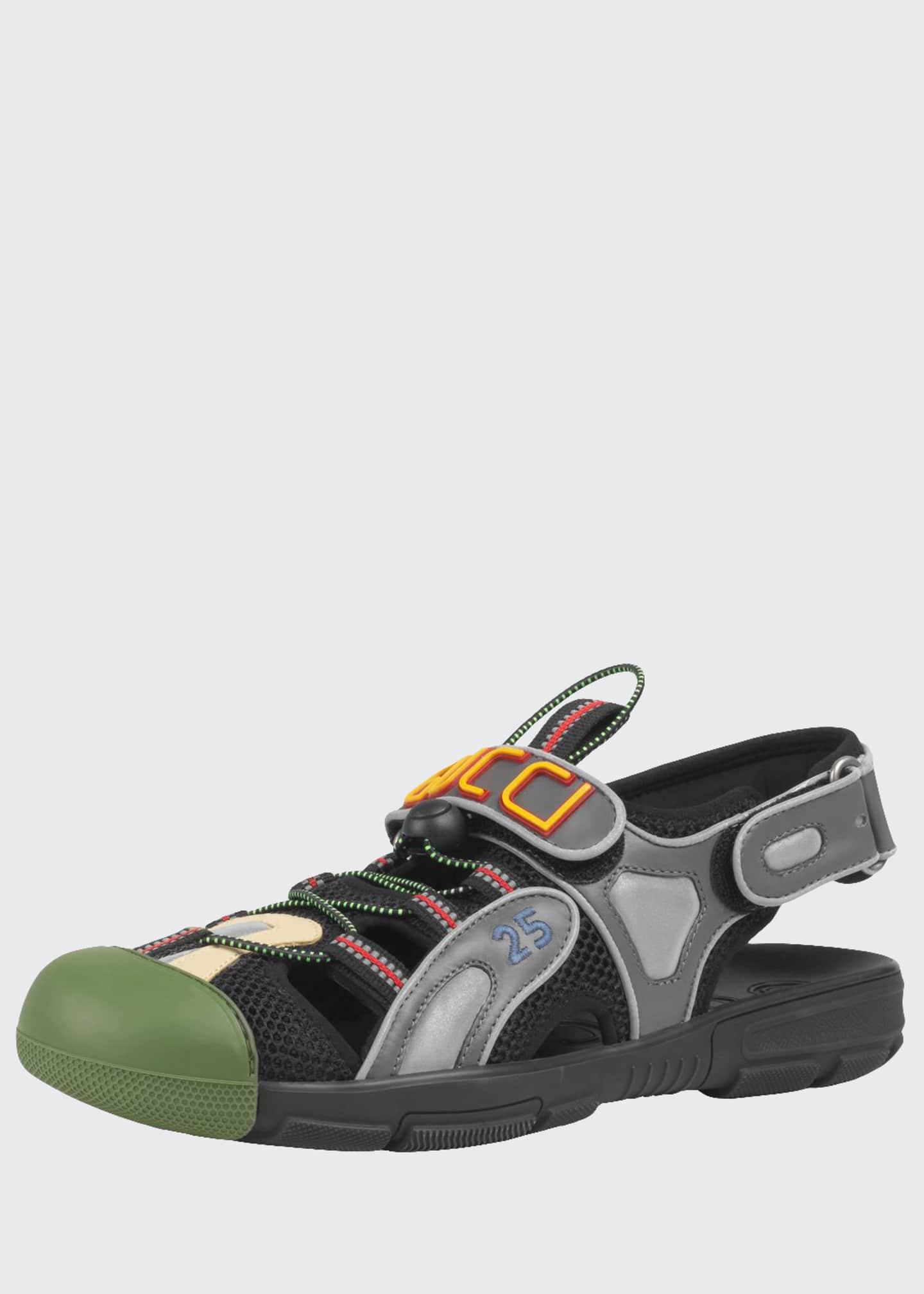 Gucci Men's Tinsel Sneaker Sandals