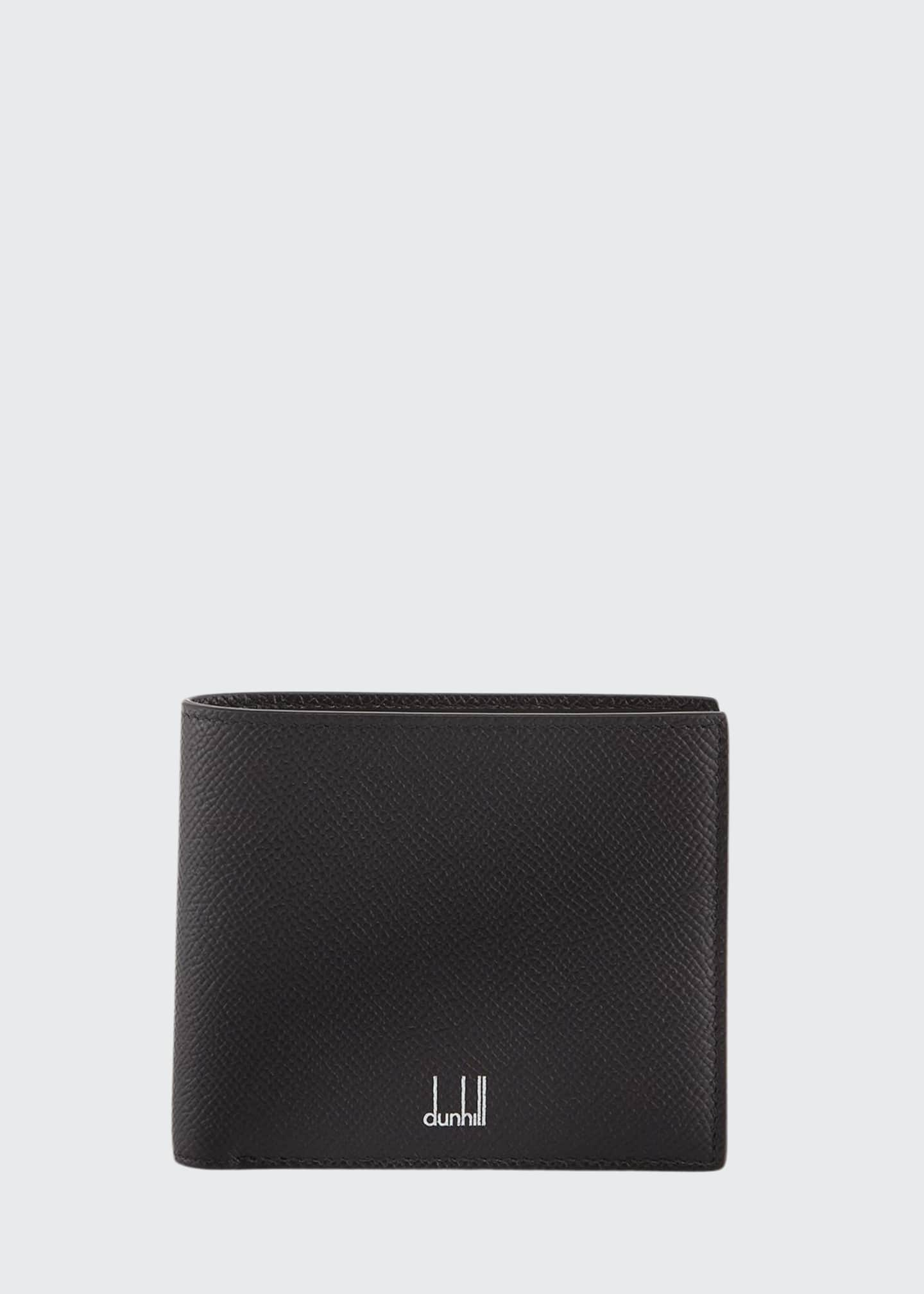 dunhill Men's Cadogan Leather 8-Card Bi-Fold Wallet