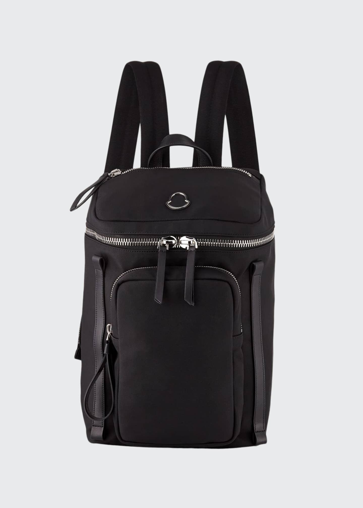 Moncler New Yannick Nylon Canvas Backpack