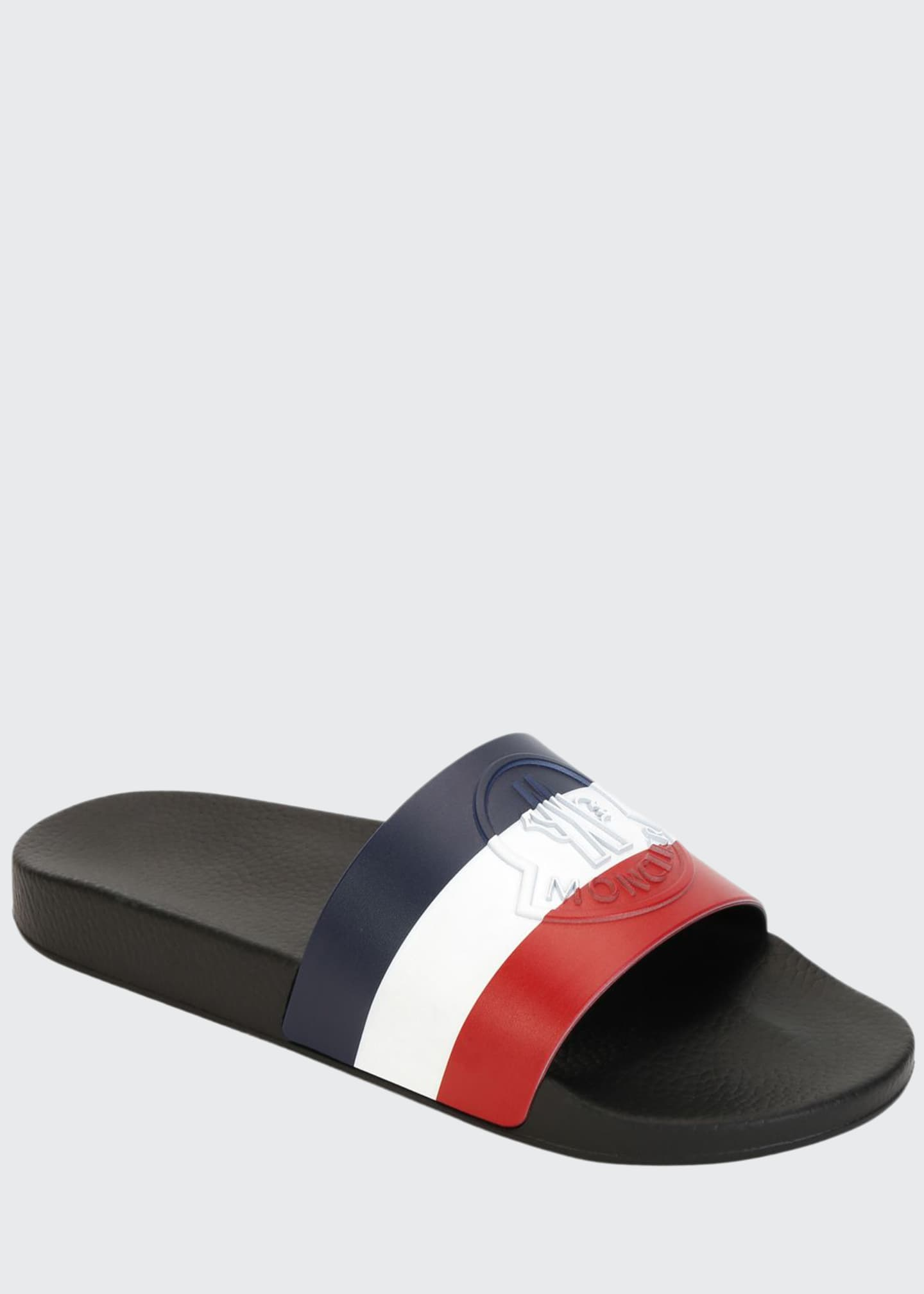 Moncler Men's Pool Slide Sandals