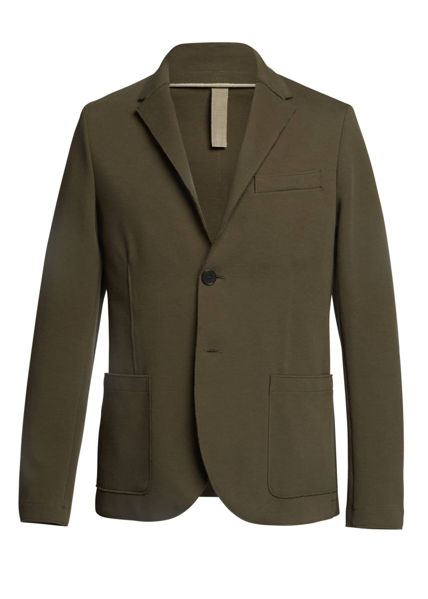 Image 5 of 5: Men's Piquet Blazer w/ Elbow Patch