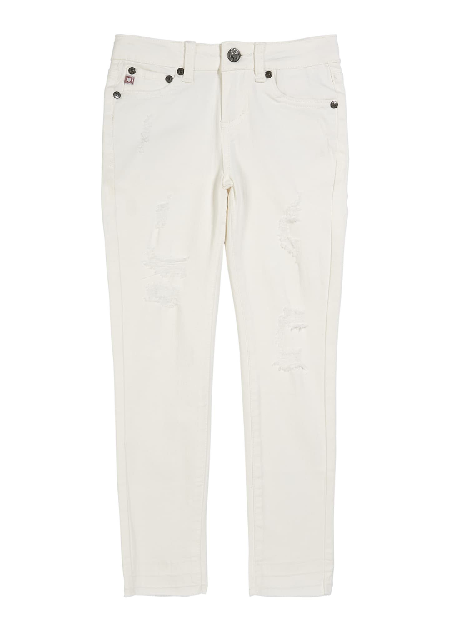 AG Girls' The Daily Distressed Skinny Jeans w/