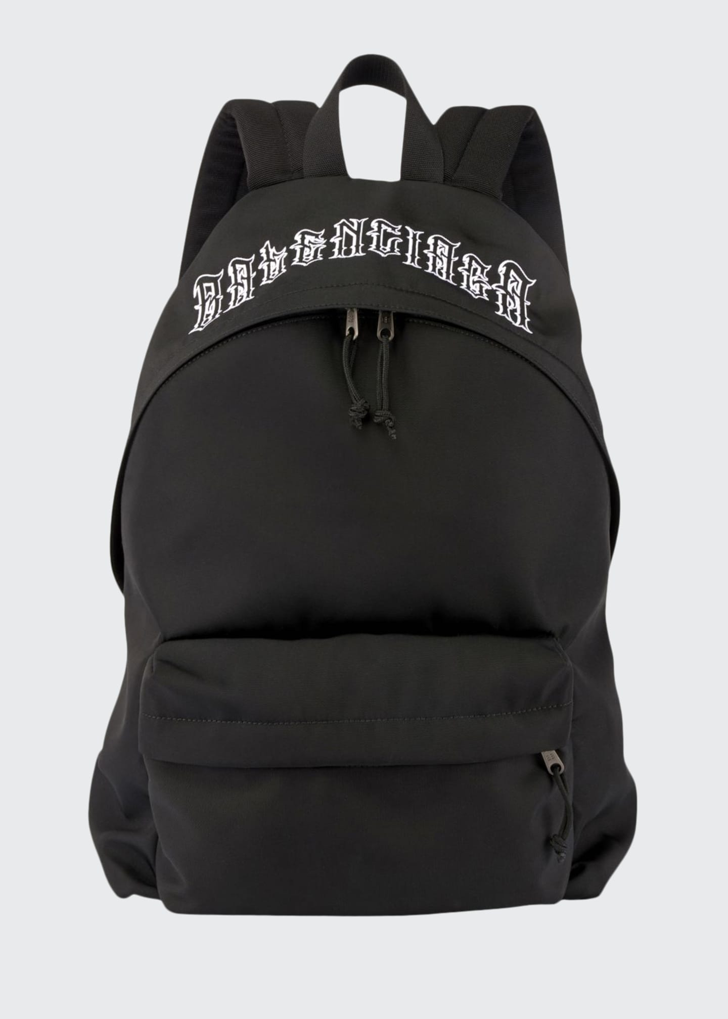 Balenciaga Men's Explorer Tattoo-Logo Backpack