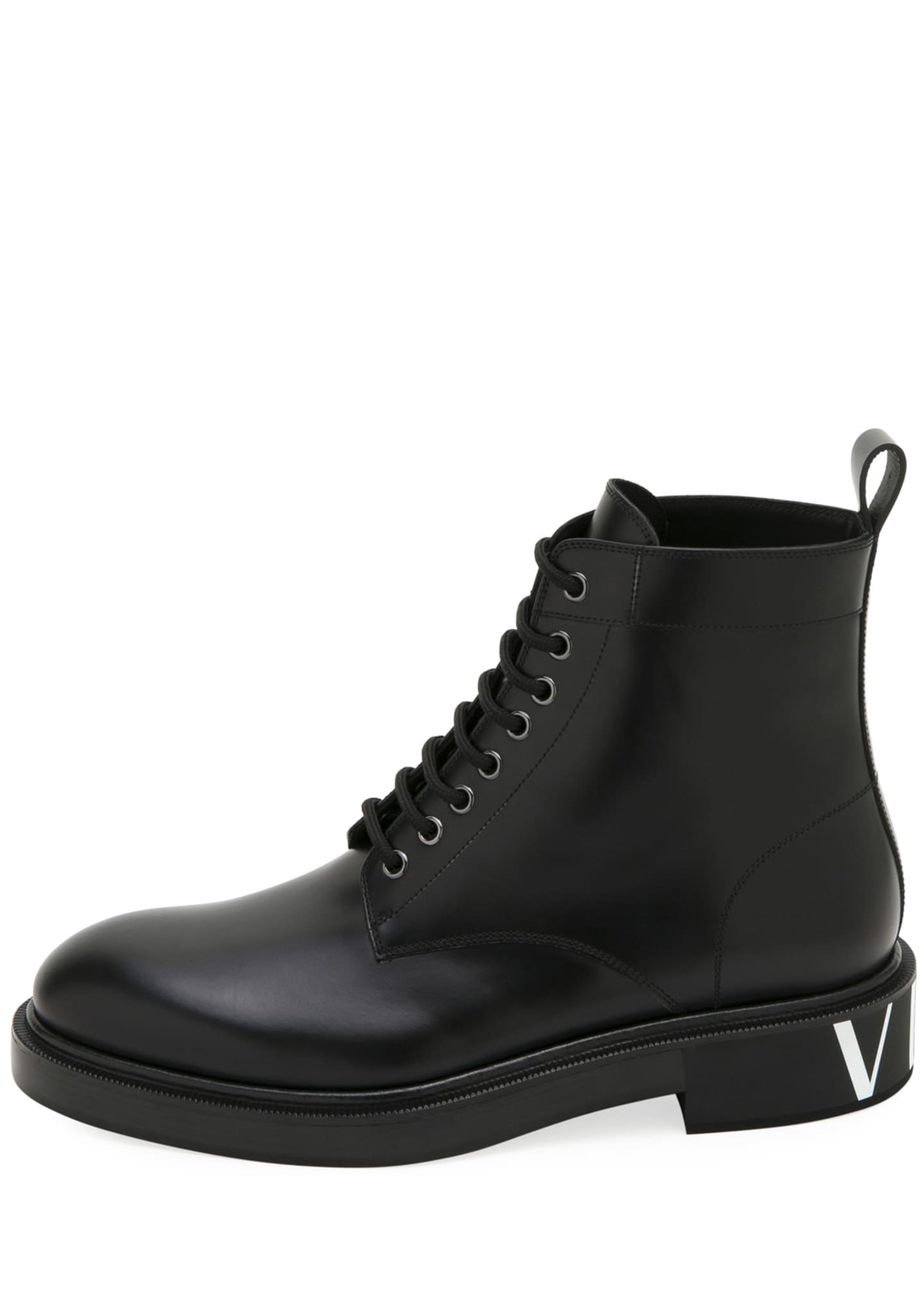 Image 2 of 3: Men's Leather Lace-Up Boots