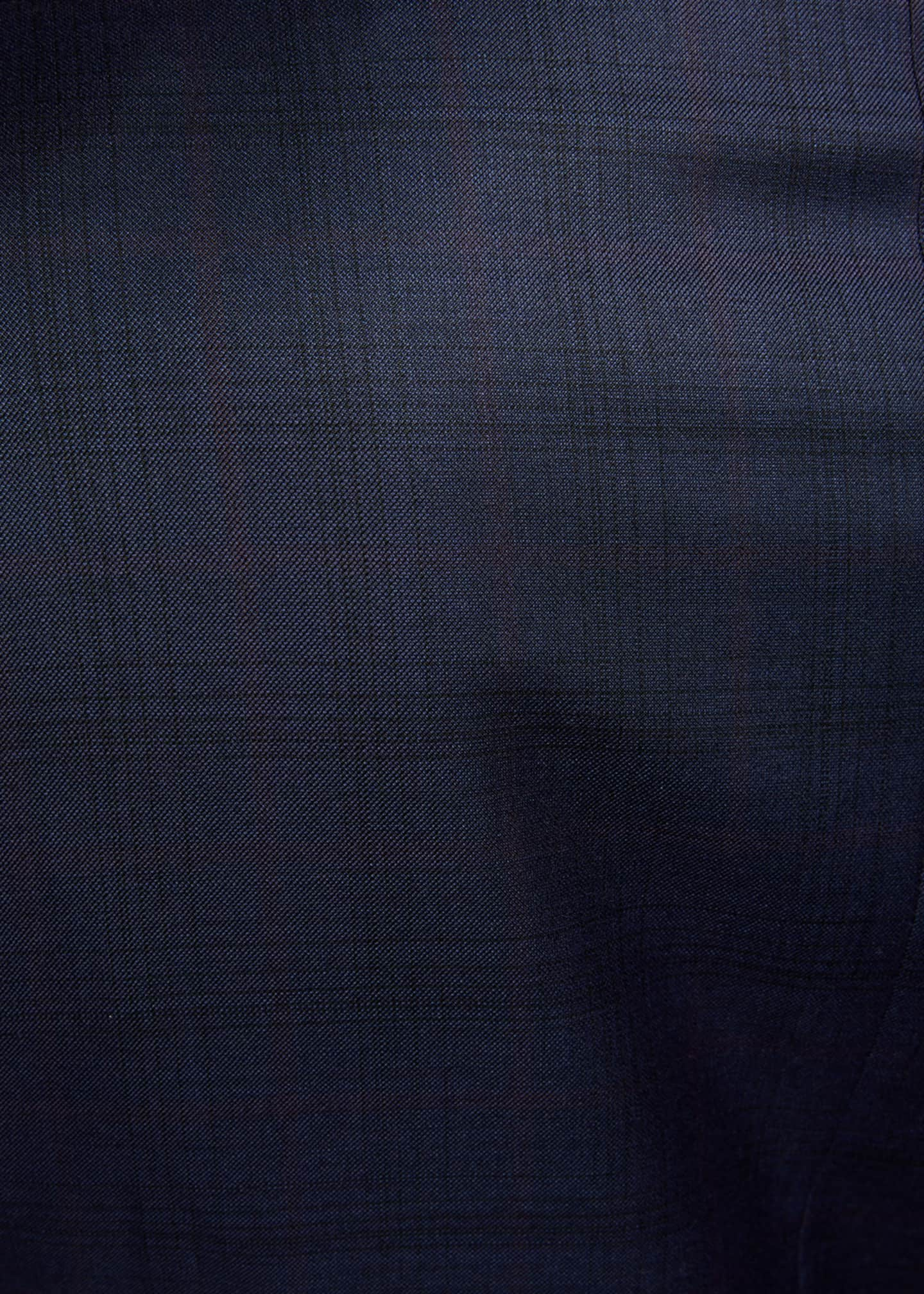 Image 4 of 4: Men's Two-Piece Plaid Regular-Fit Wool Suit