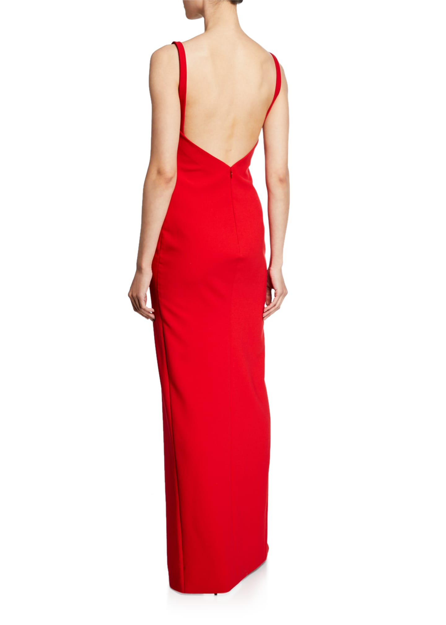 Image 2 of 2: Bethany Sleeveless Column Gown