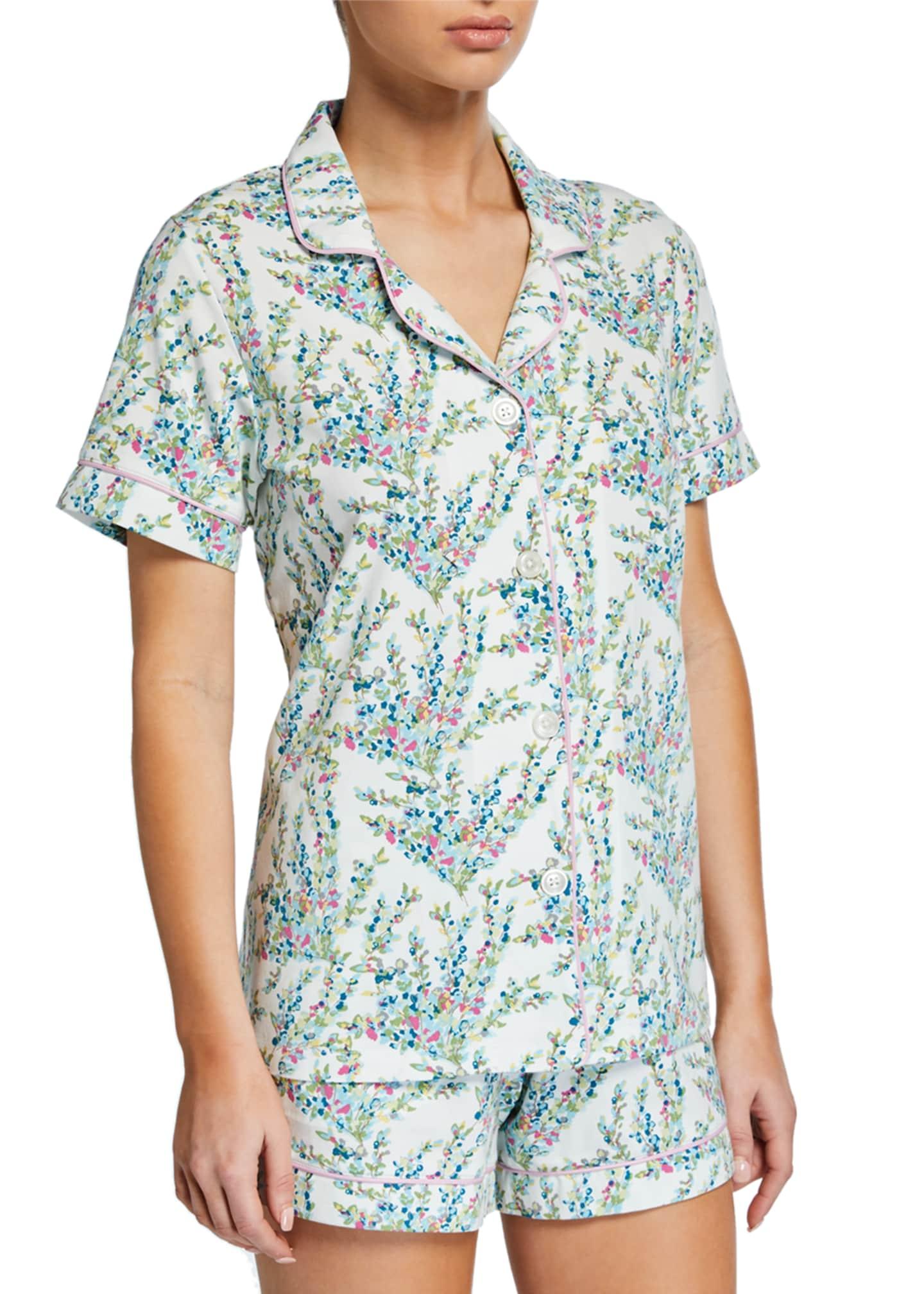 BedHead Pajamas Plus Size Spring Bloom Shorty Pajama
