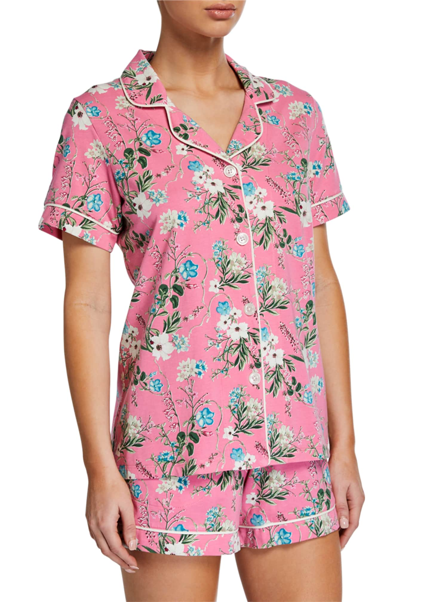 BedHead Pajamas Plus Size Ladybug Floral Shorty Pajama