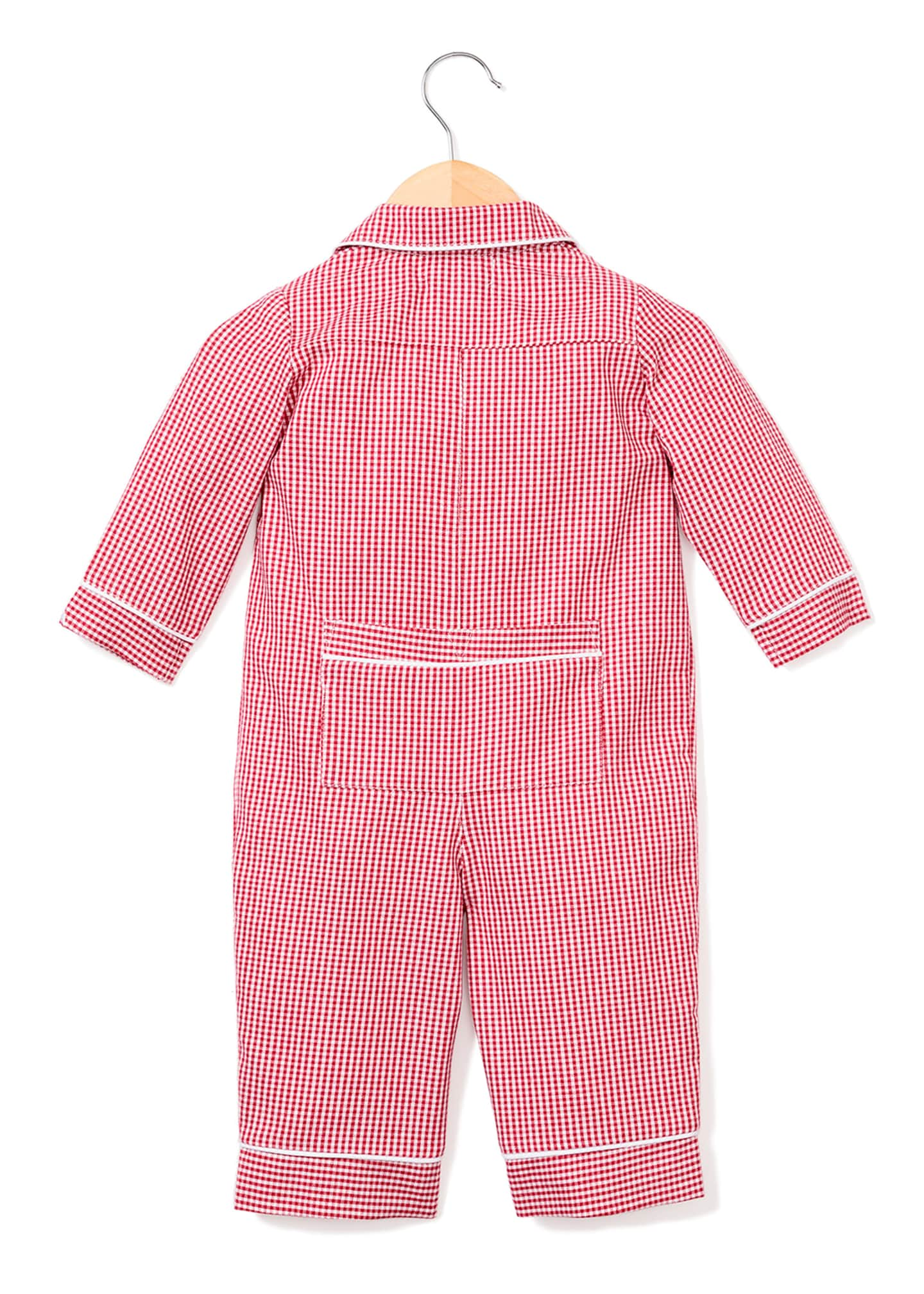Image 2 of 2: Mini Gingham Coverall, Size 0-24 Months