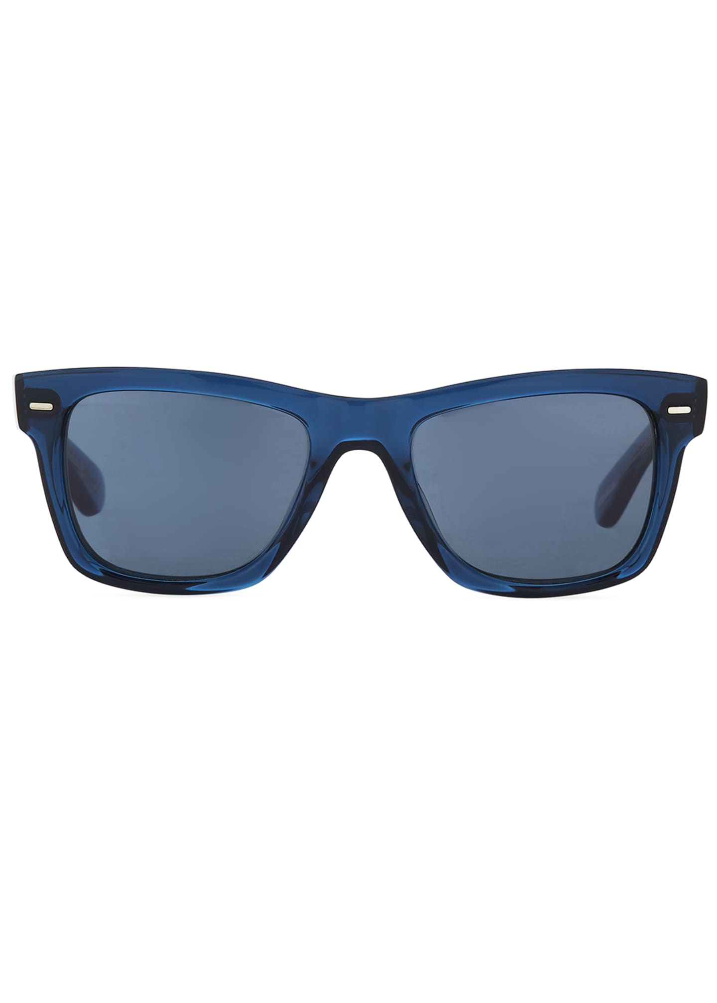 Image 2 of 3: Square Acetate Sunglasses