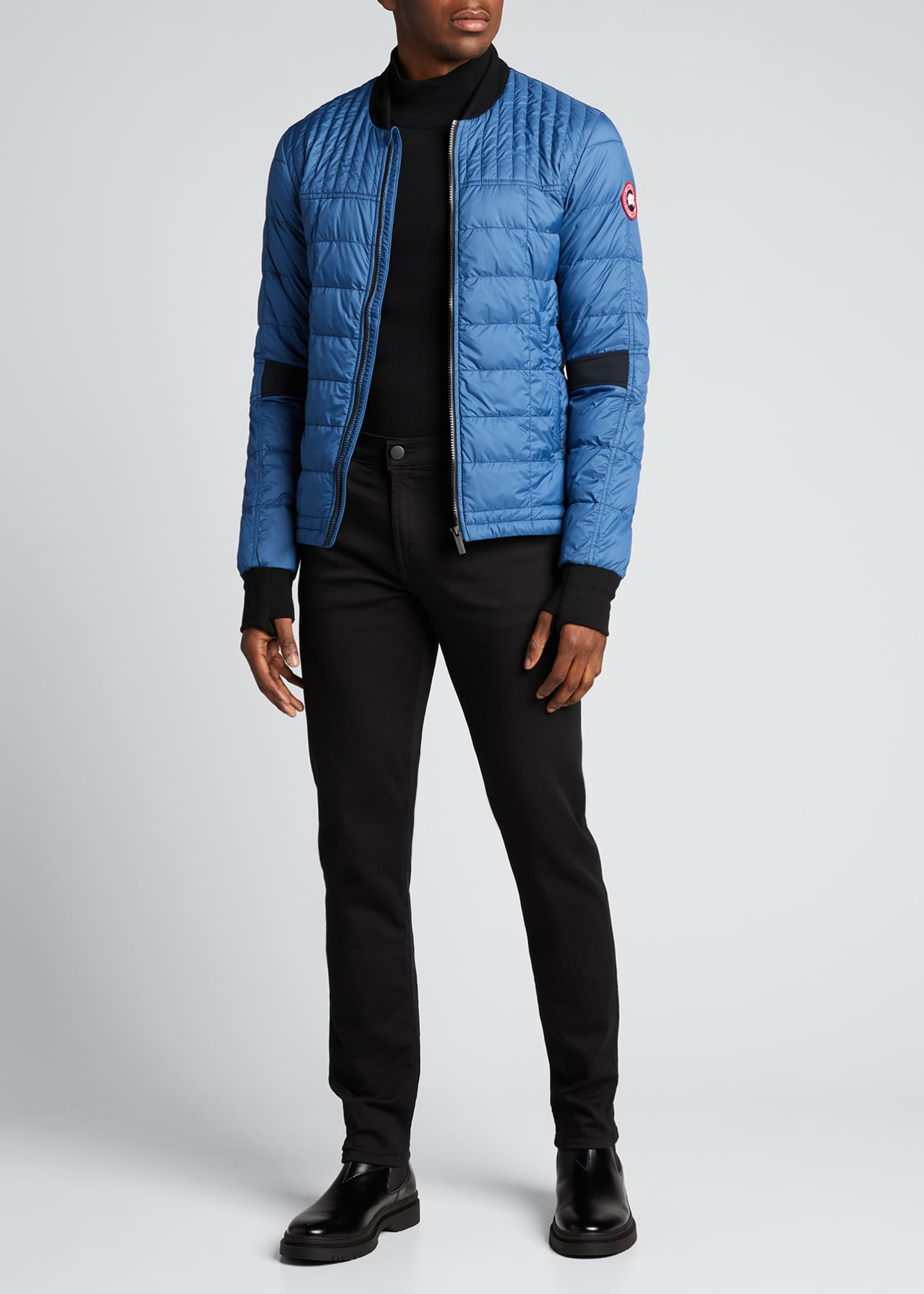 Image 1 of 1: Men's Dunham Quilted Zip-Front Jacket