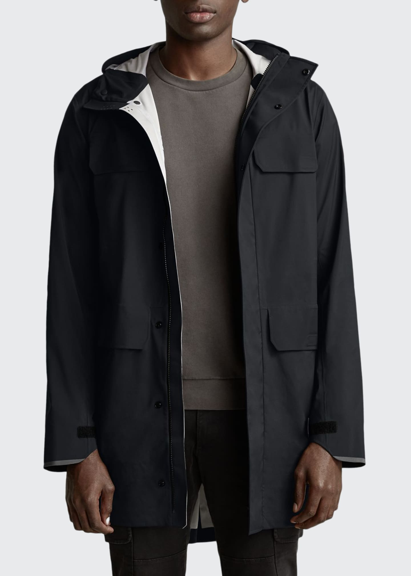 Canada Goose Men's Seawolf Hooded Jacket w/ Waterproof