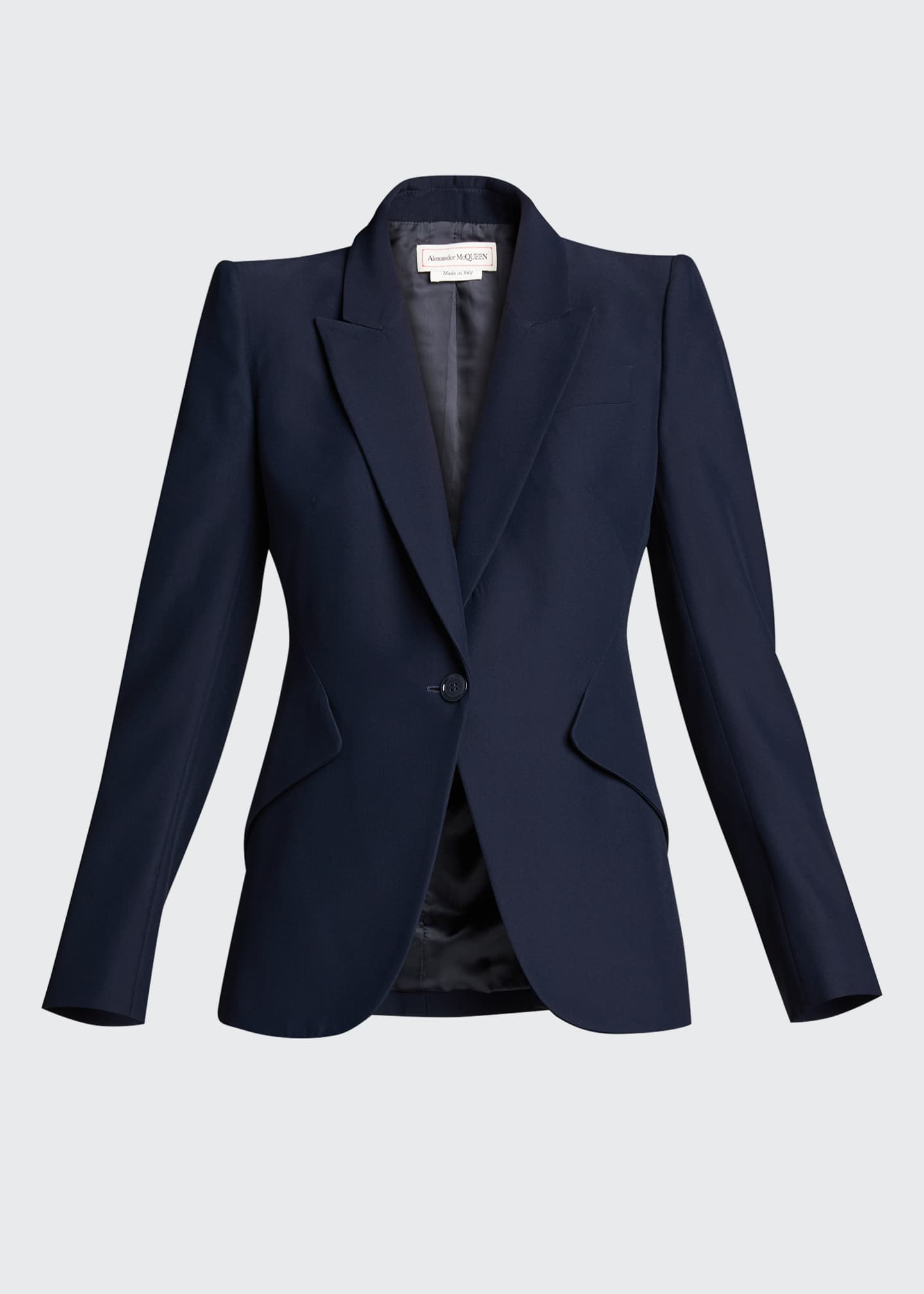 Image 5 of 5: Classic Double-Breasted Suiting Blazer