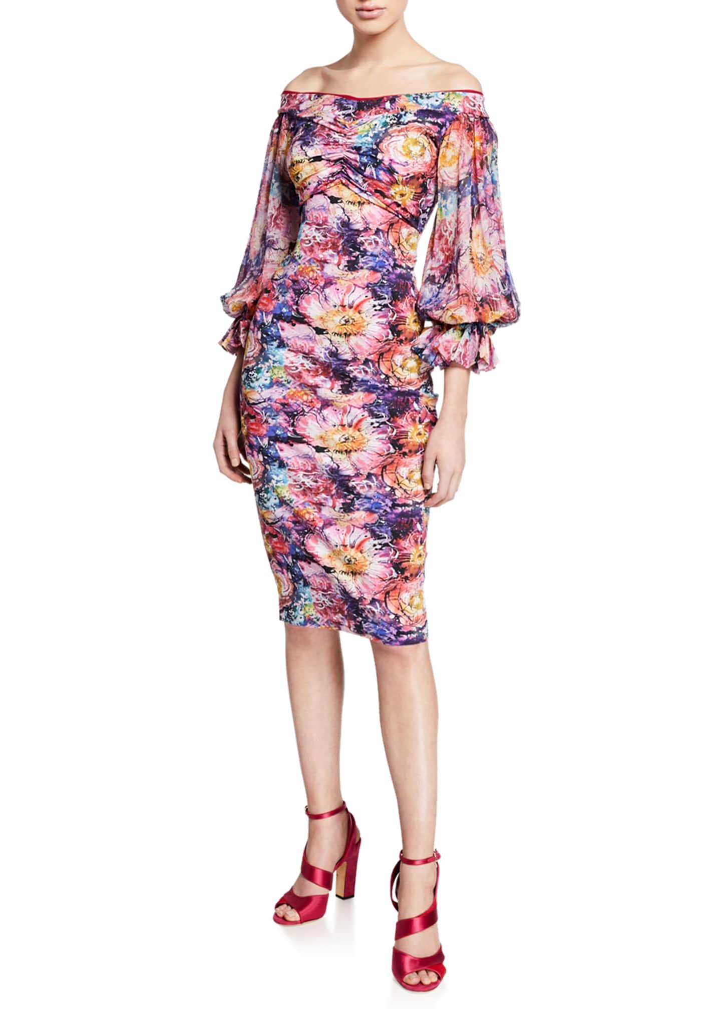 Chiara Boni La Petite Robe Maber Abstract Floral-Print