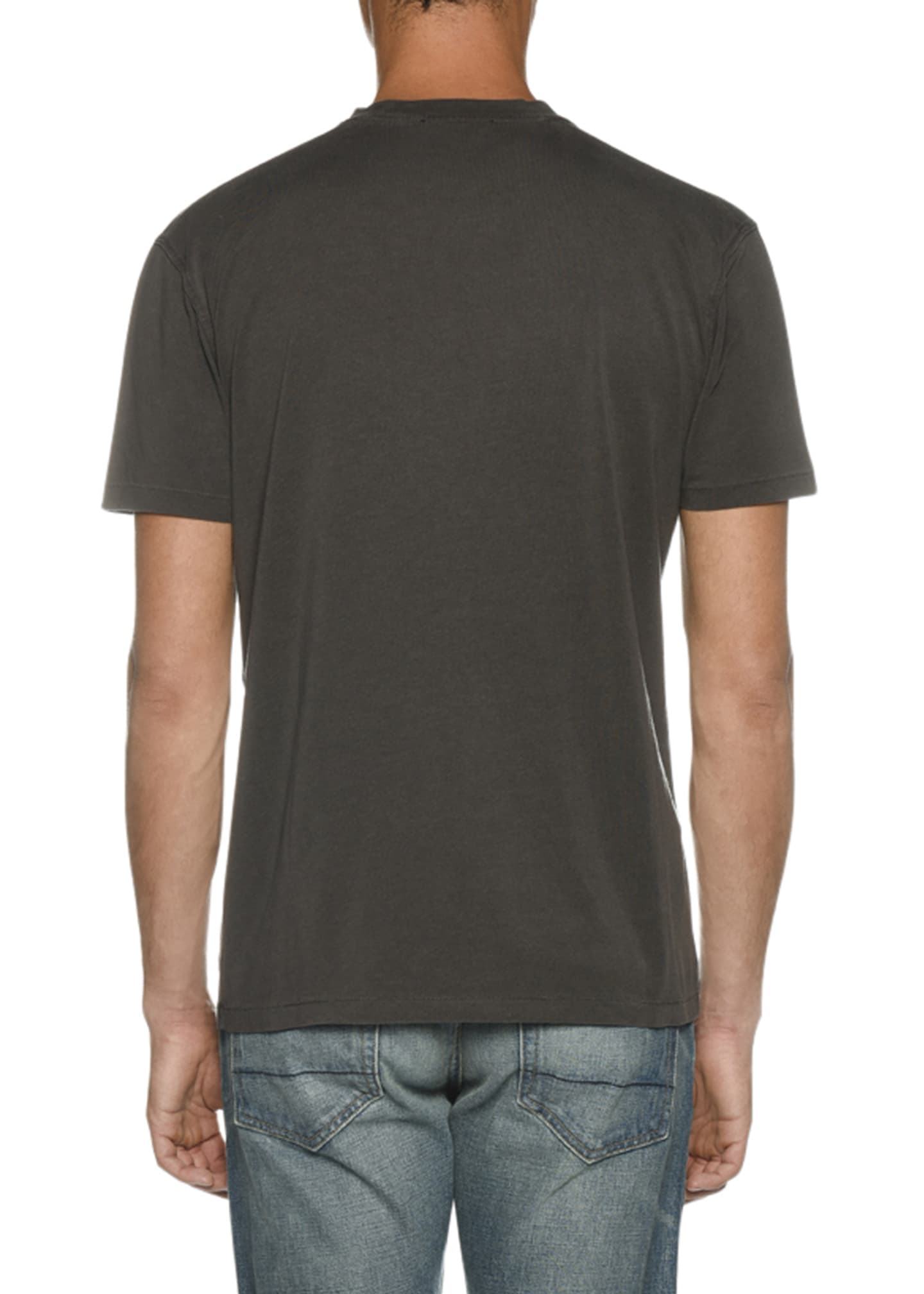 Image 2 of 2: Men's Short-Sleeve Solid T-Shirt
