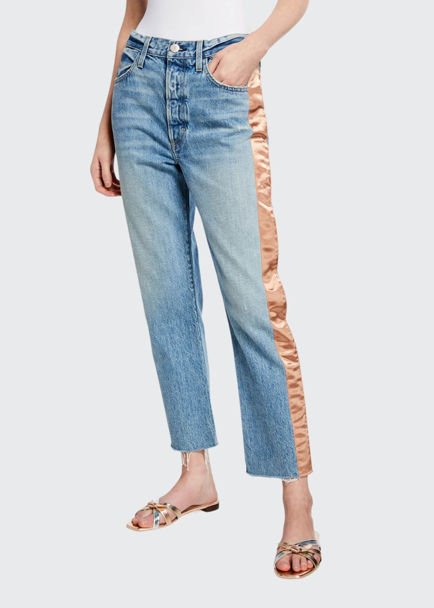 AMO Denim Ribbon Loverboy Jeans