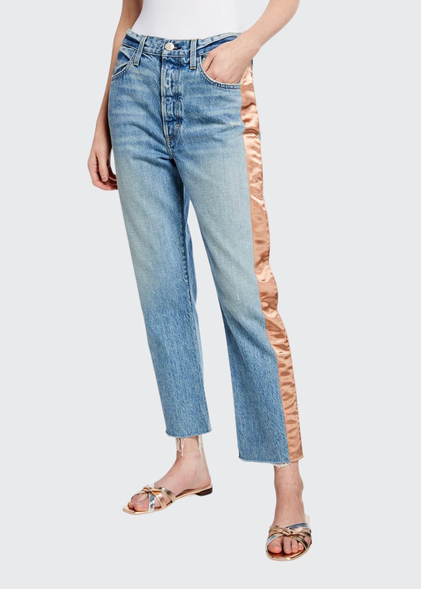 AMO Denim Ribbon Loverboy Jeans