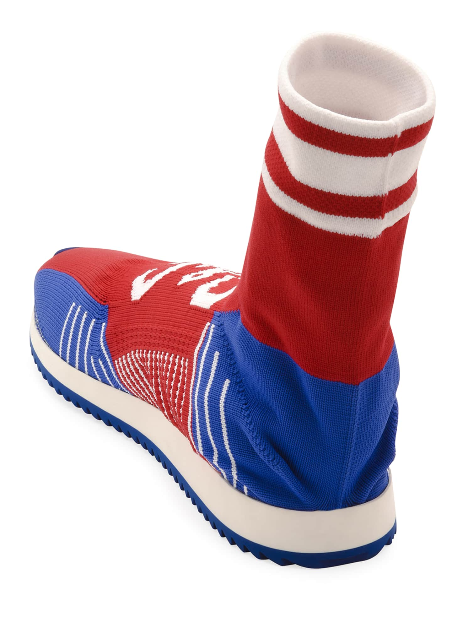 Image 3 of 3: Men's Sorrento Sock Soccer Sneakers