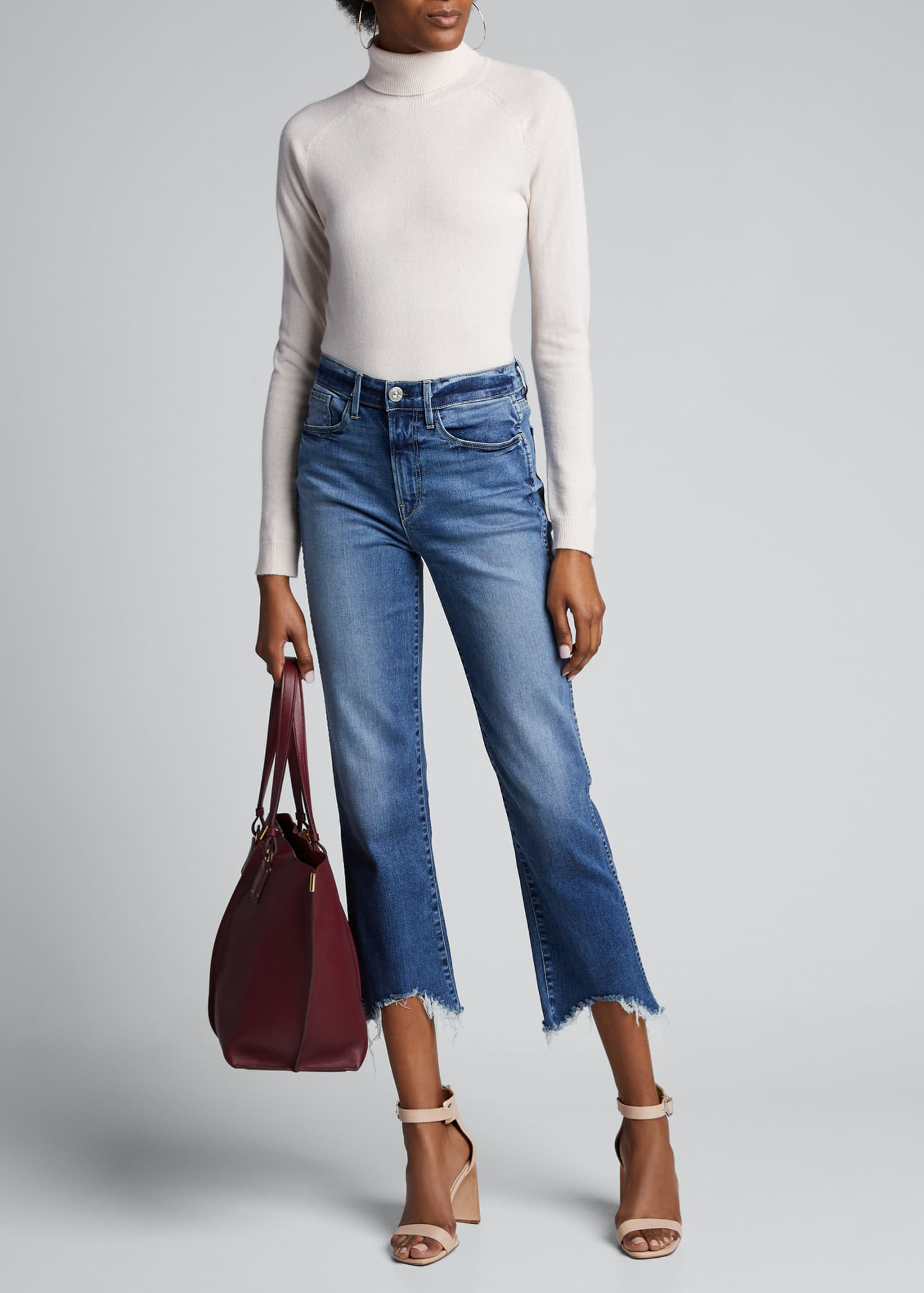 3x1 Austin Cropped High-Rise Jeans