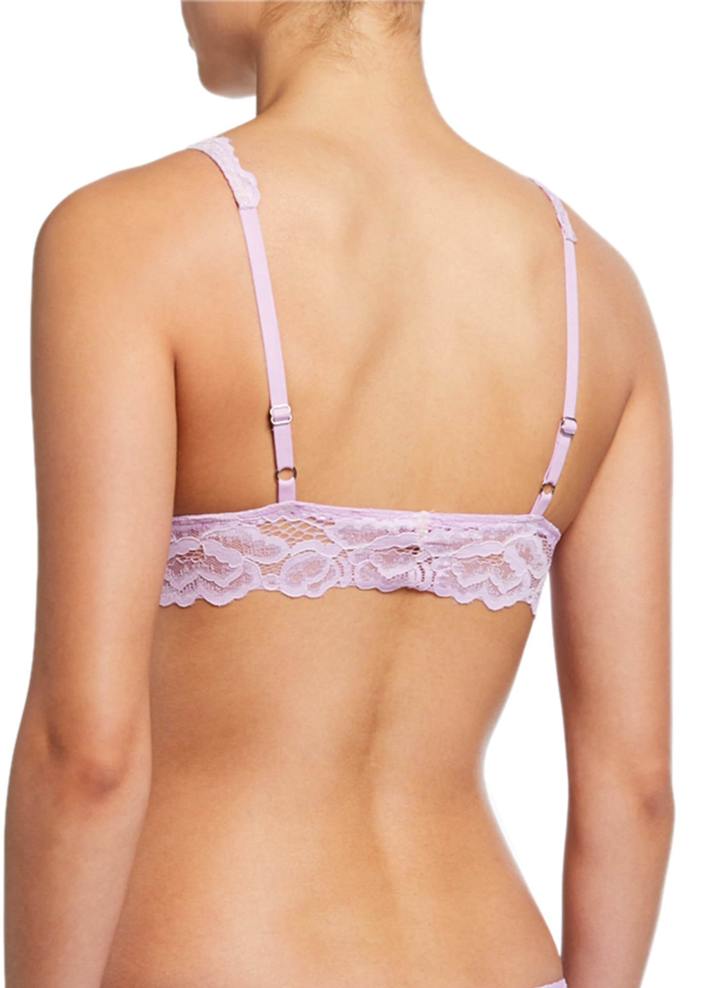 Image 2 of 2: Livvie Come To Bed Lace Bralette