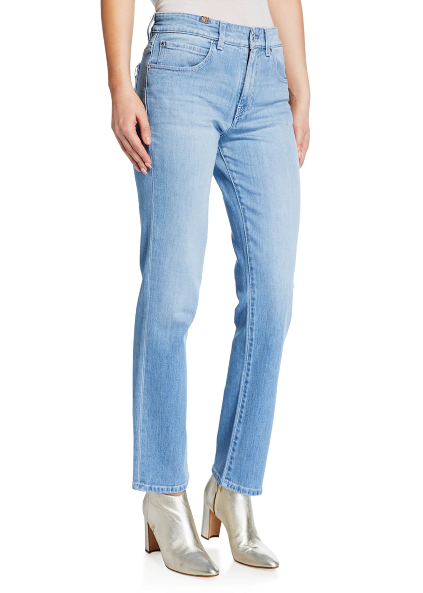 Atelier Notify Aloha Straight-Leg Ankle Jeans