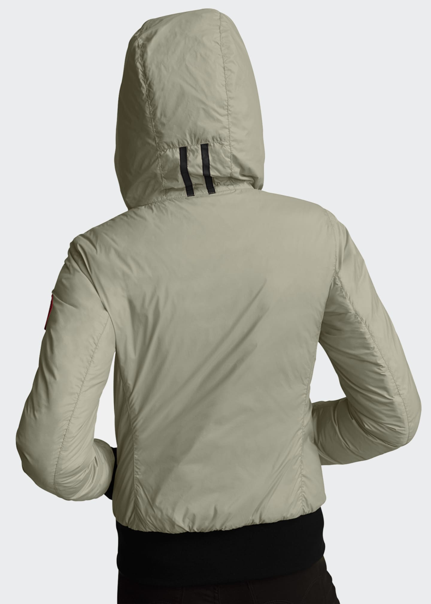 Image 2 of 5: Dore Slim-Fit Hooded Jacket w/ Down Fill