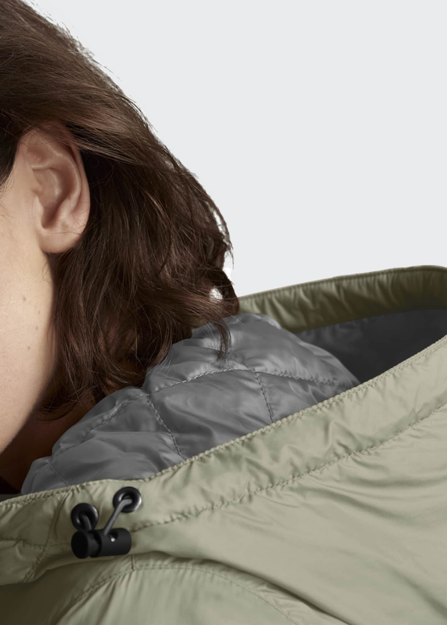 Image 4 of 5: Dore Slim-Fit Hooded Jacket w/ Down Fill
