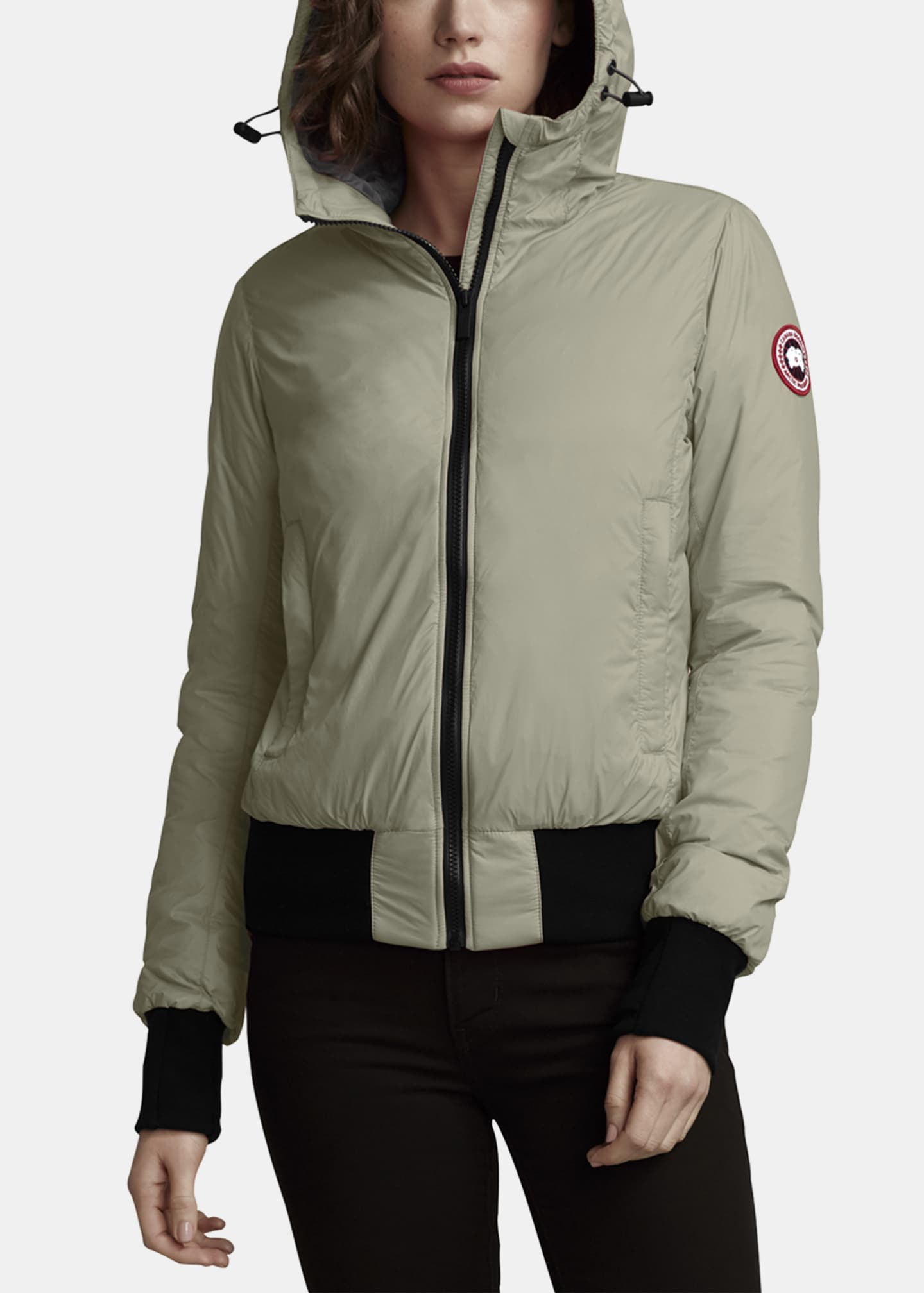 Image 1 of 5: Dore Slim-Fit Hooded Jacket w/ Down Fill