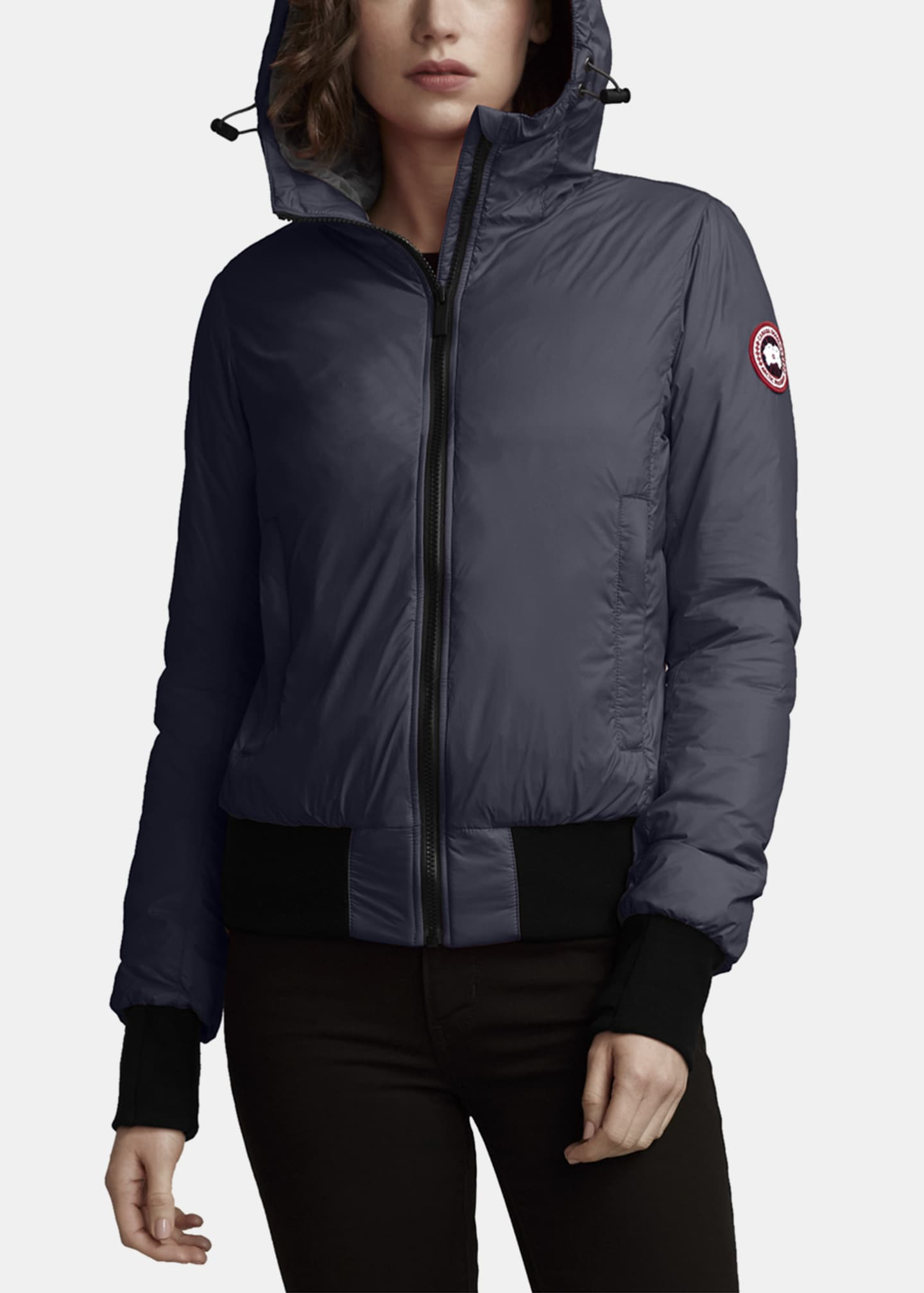 Canada Goose Dore Slim-Fit Hooded Jacket w/ Down