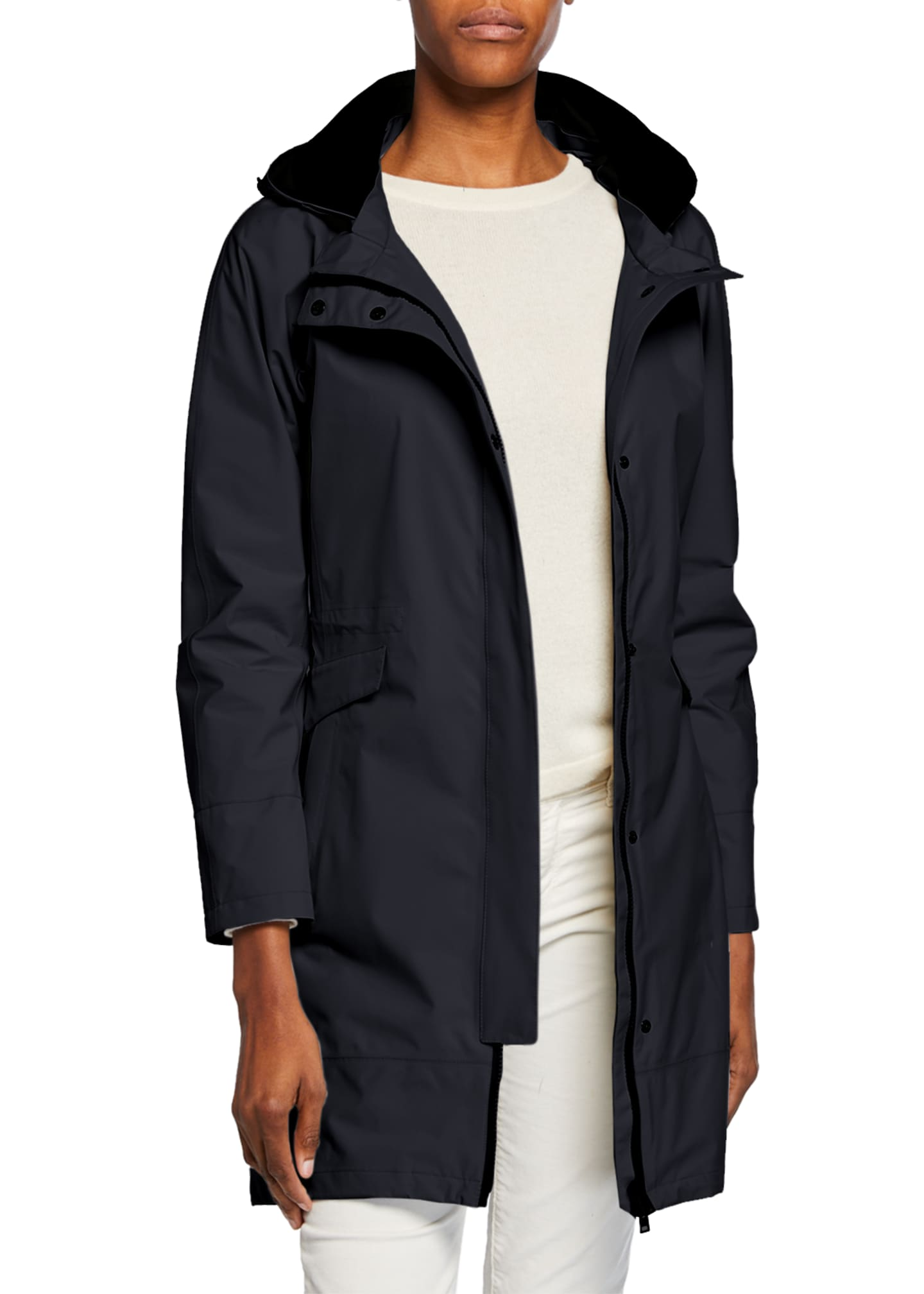 Herno 2-Layer Parka w/ Removable Hood