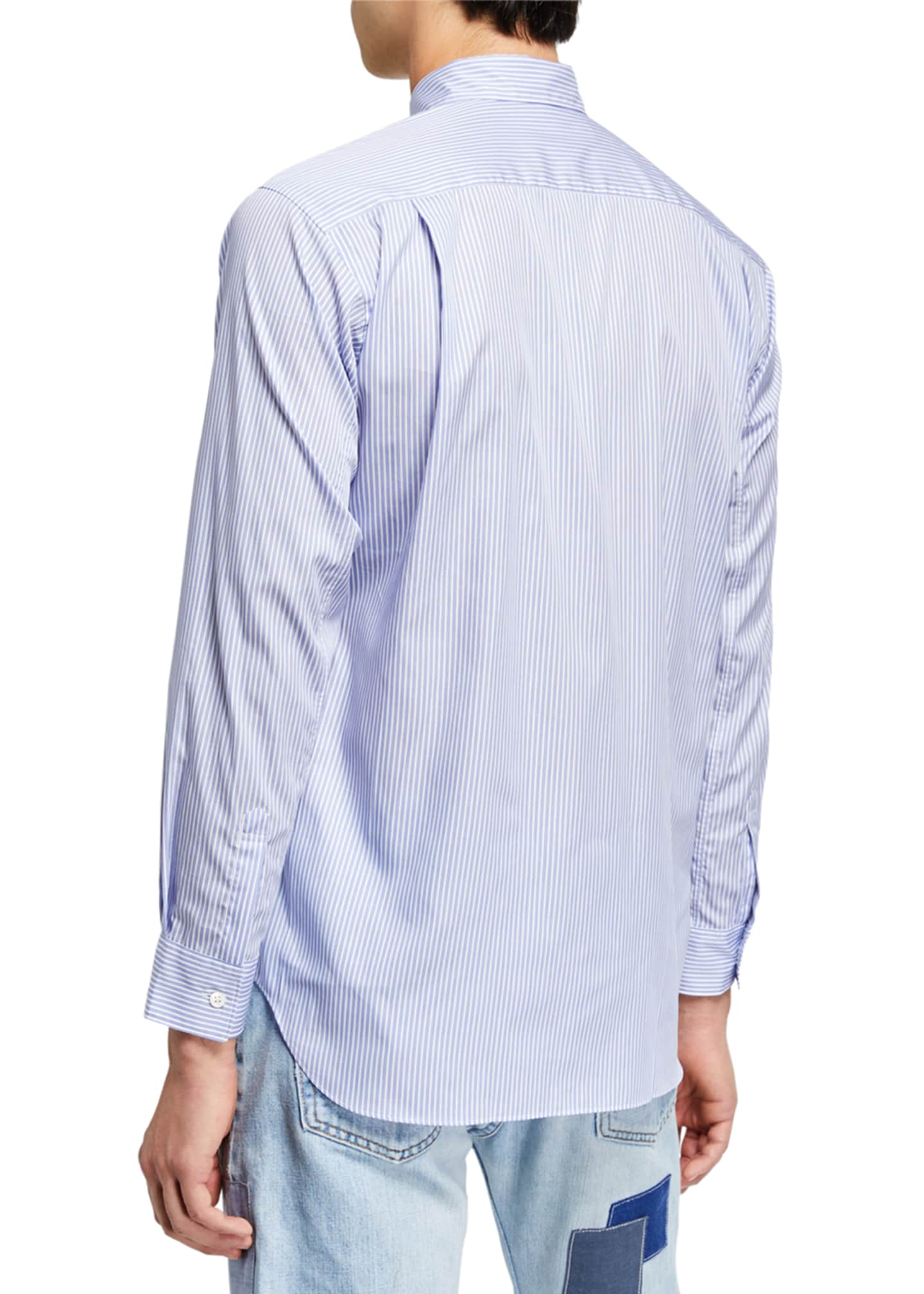 Image 2 of 2: Men's Forever Striped Sport Shirt