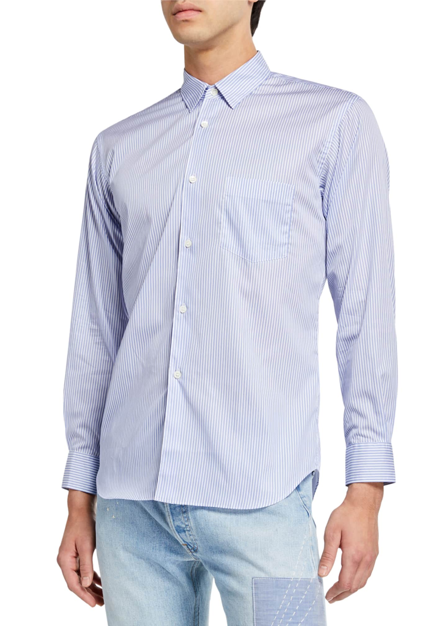 Image 1 of 2: Men's Forever Striped Sport Shirt
