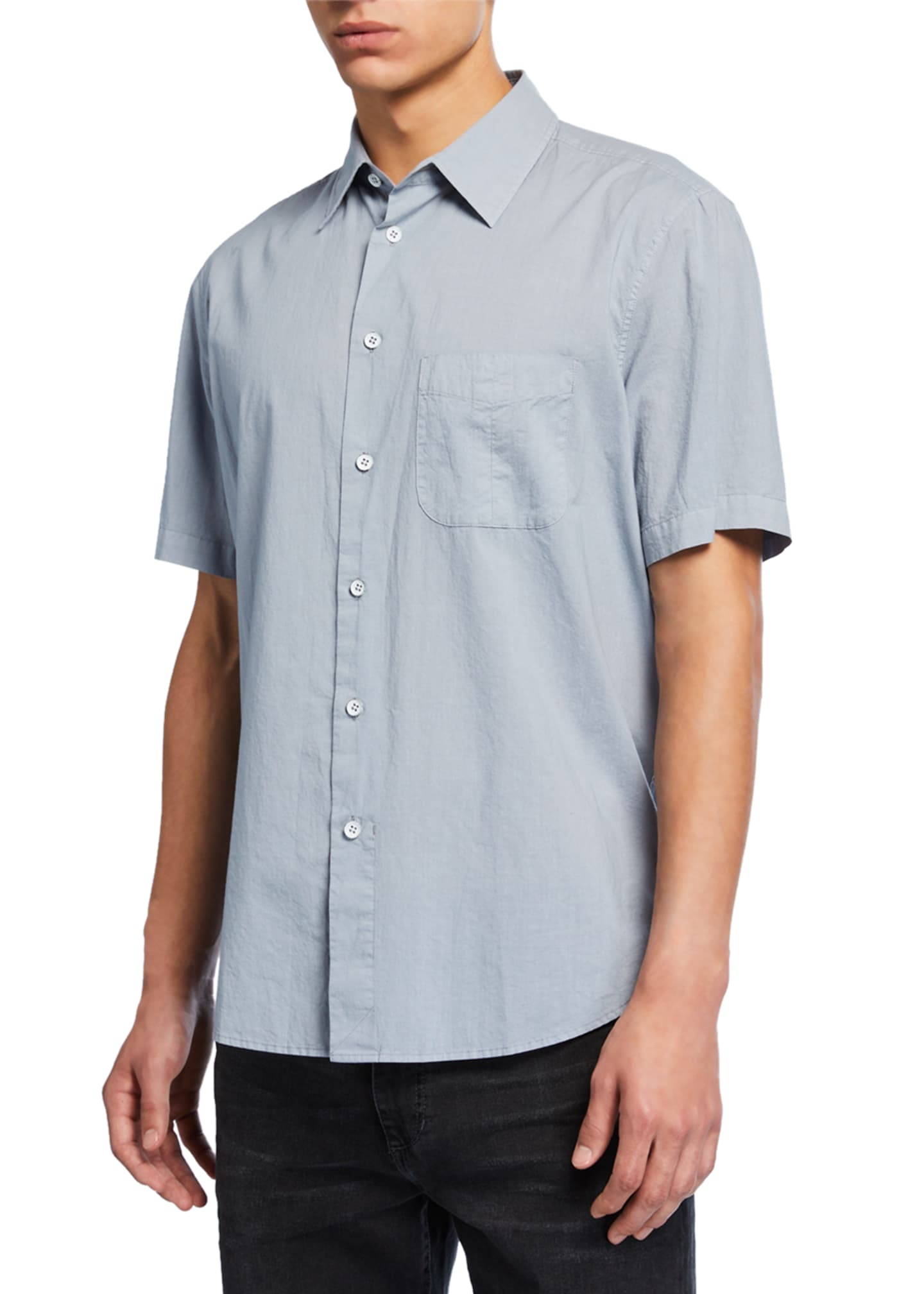 Rag & Bone Men's Smith Short-Sleeve Sport Shirt
