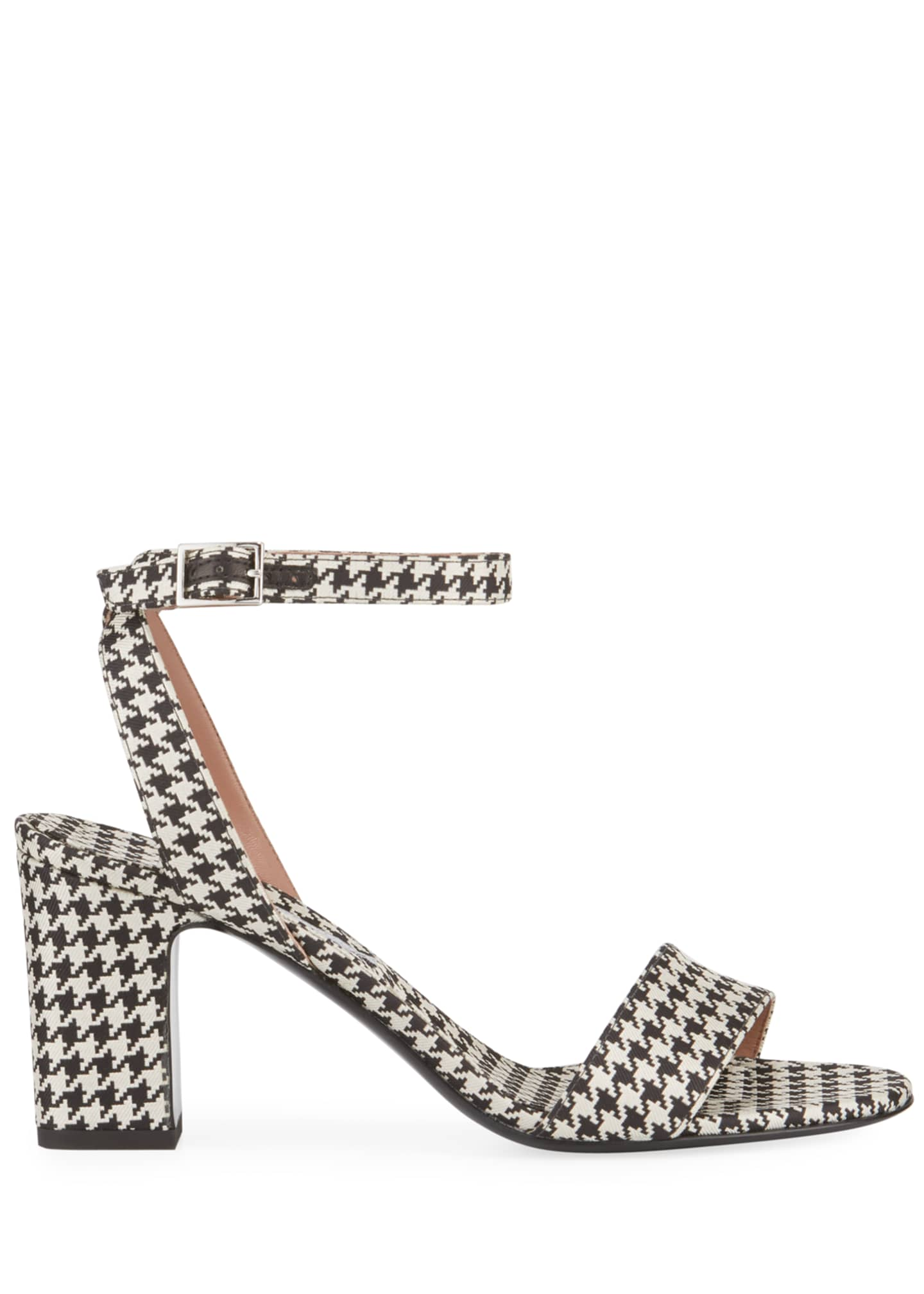 Image 2 of 3: Leticia Houndstooth Sandals