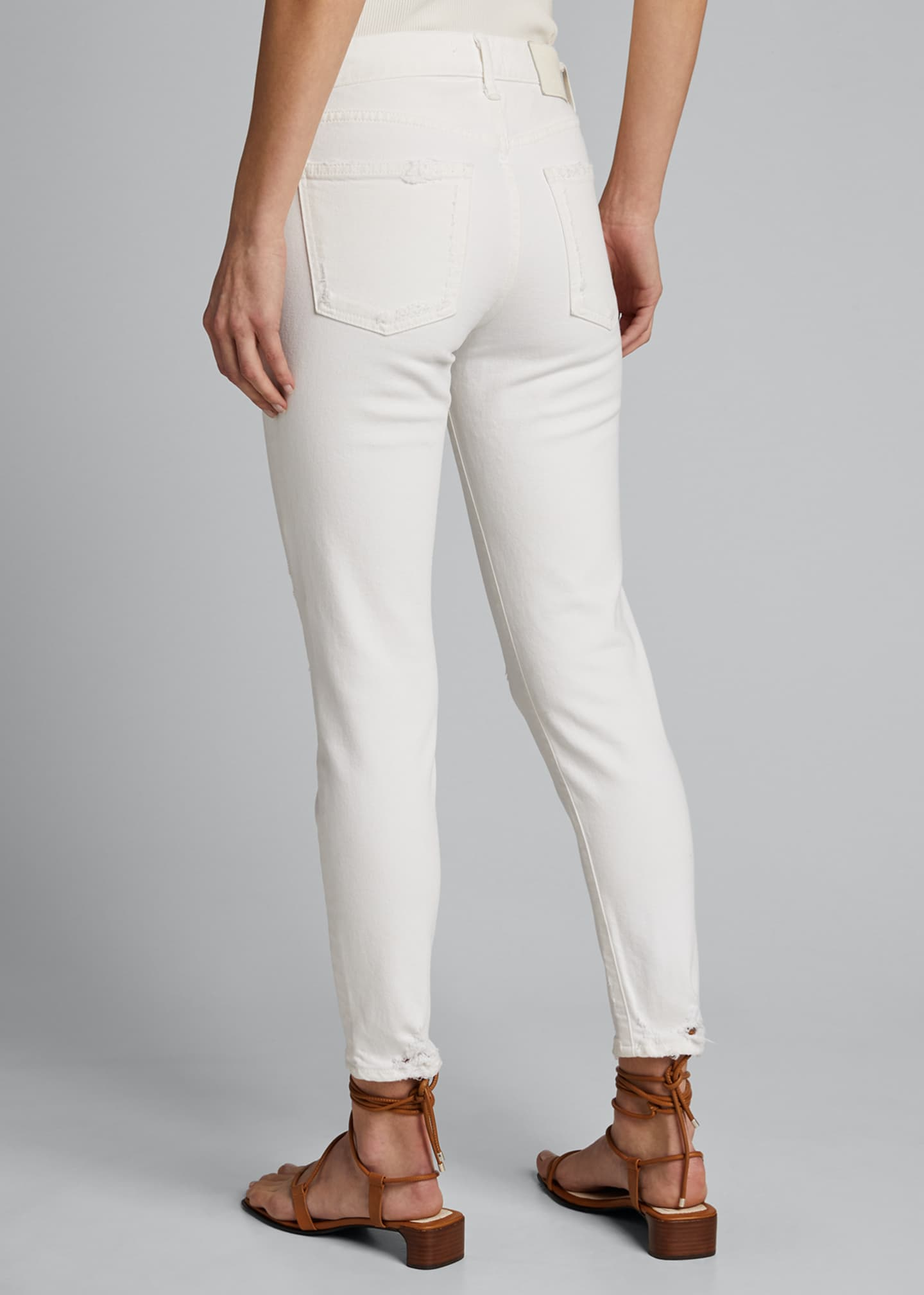 Image 2 of 5: Velma Cropped Mid-Rise Skinny Jeans