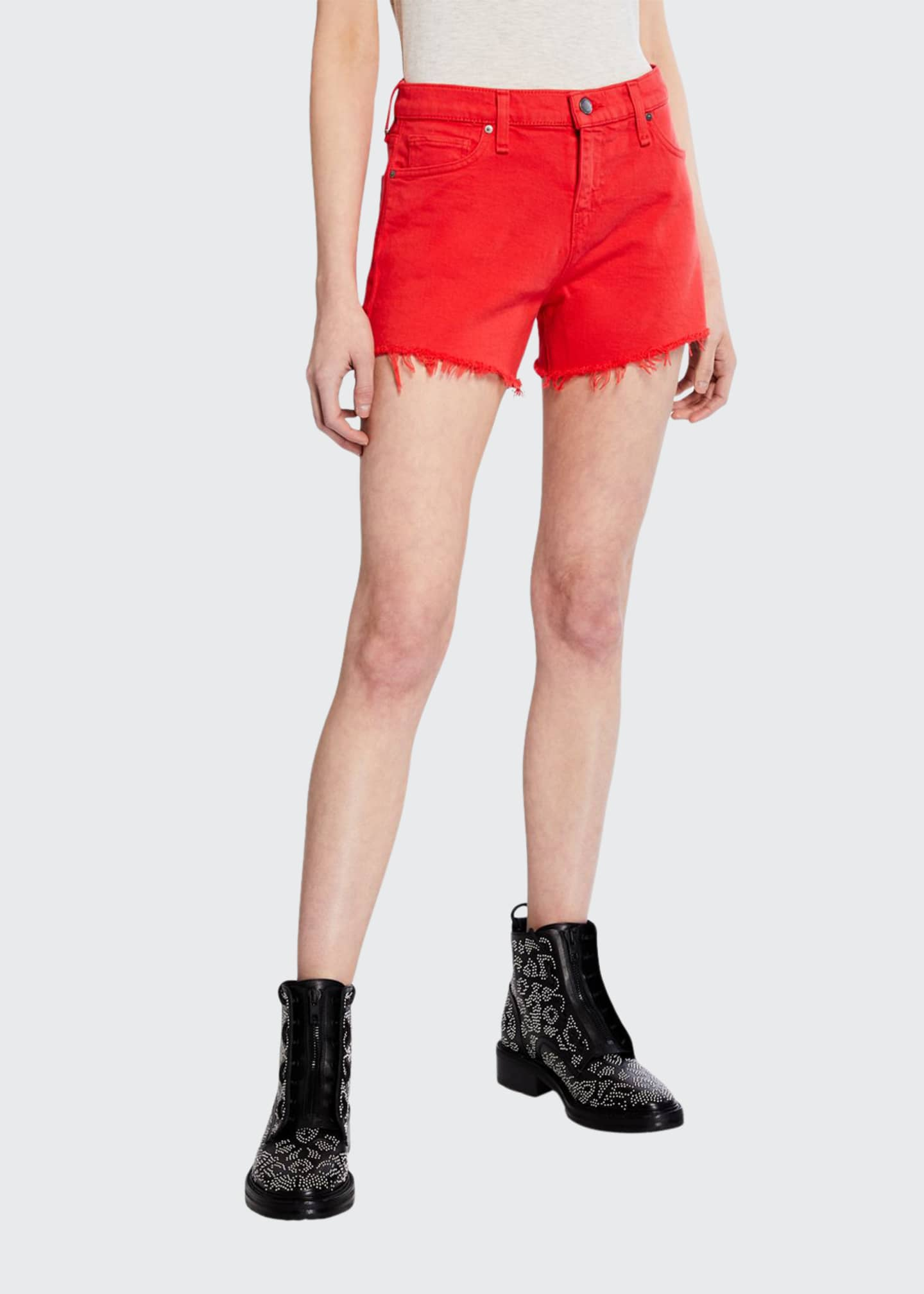 Hudson Gemma Mid-Rise Cutoff Shorts