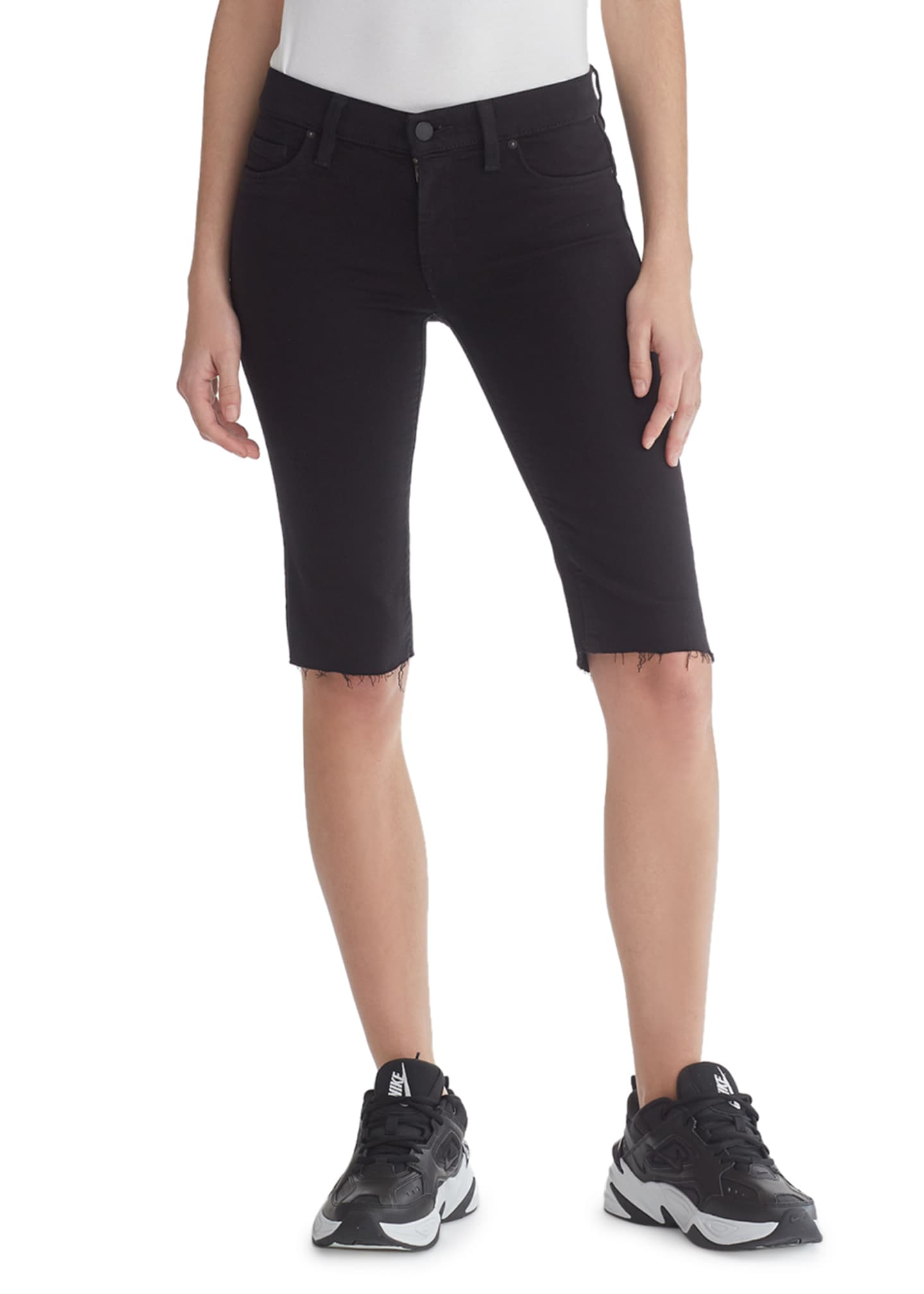 Hudson Amelia Cutoff Knee-Length Shorts