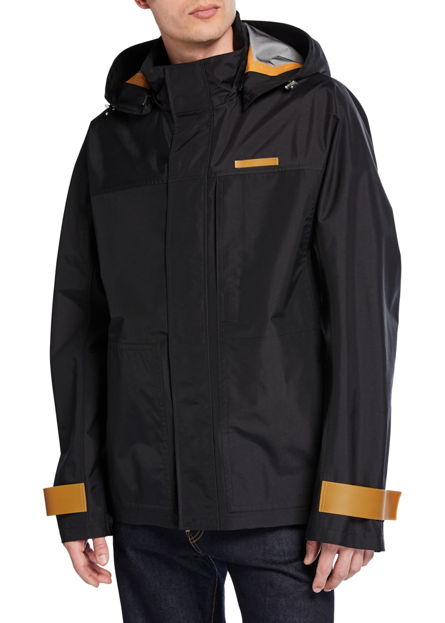 Image 2 of 3: Men's Tech Sport Nylon Zip-Front Jacket