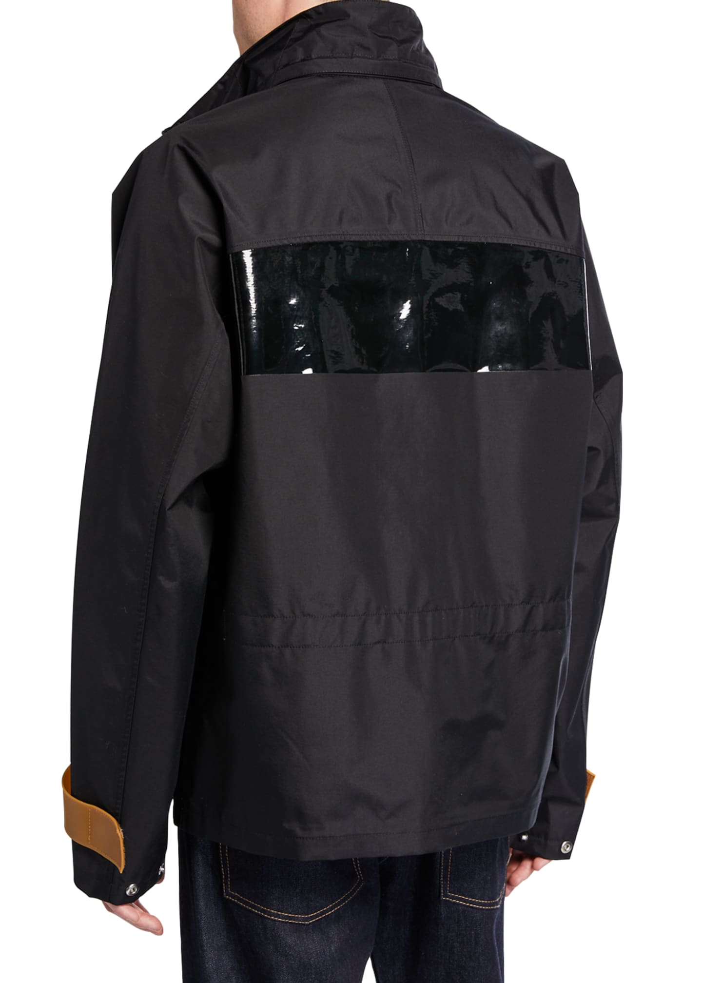 Image 3 of 3: Men's Tech Sport Nylon Zip-Front Jacket