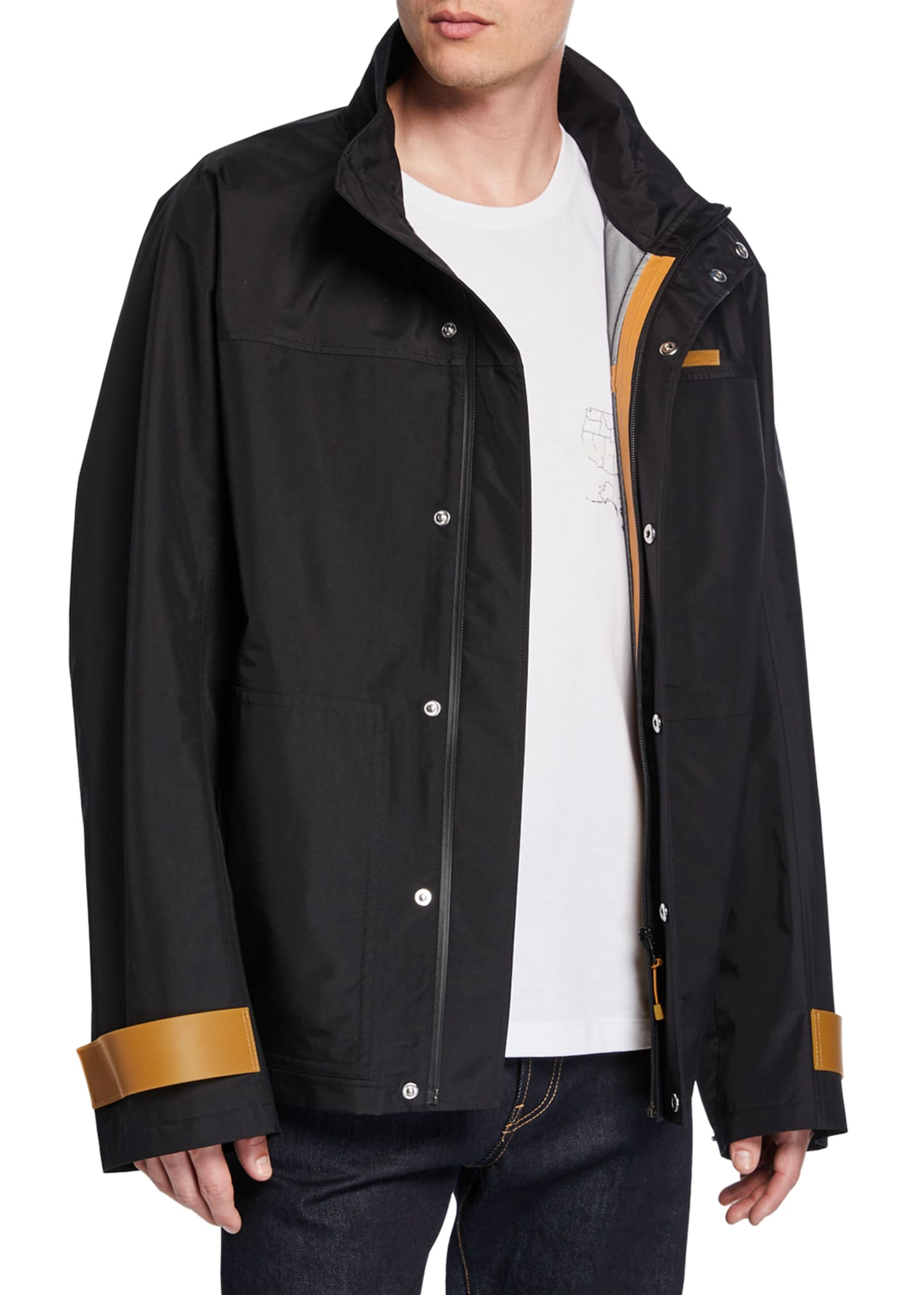 Image 1 of 3: Men's Tech Sport Nylon Zip-Front Jacket