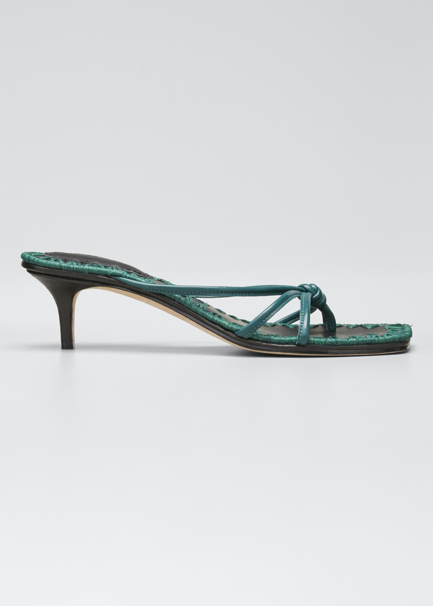 Mara & Mine Azeline Strappy Leather Thong Sandals