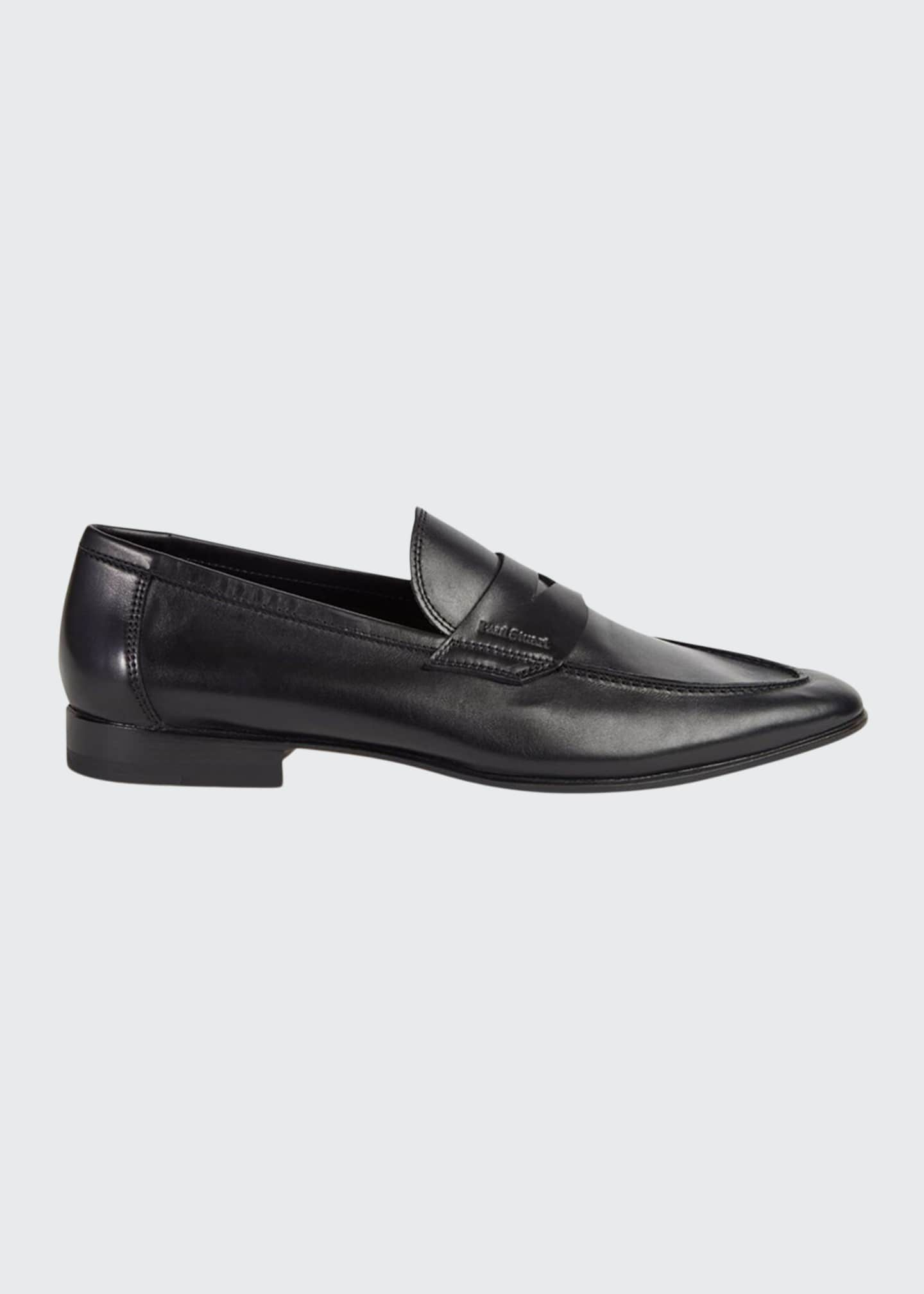 Image 1 of 2: Men's Harlan Leather Penny Loafers