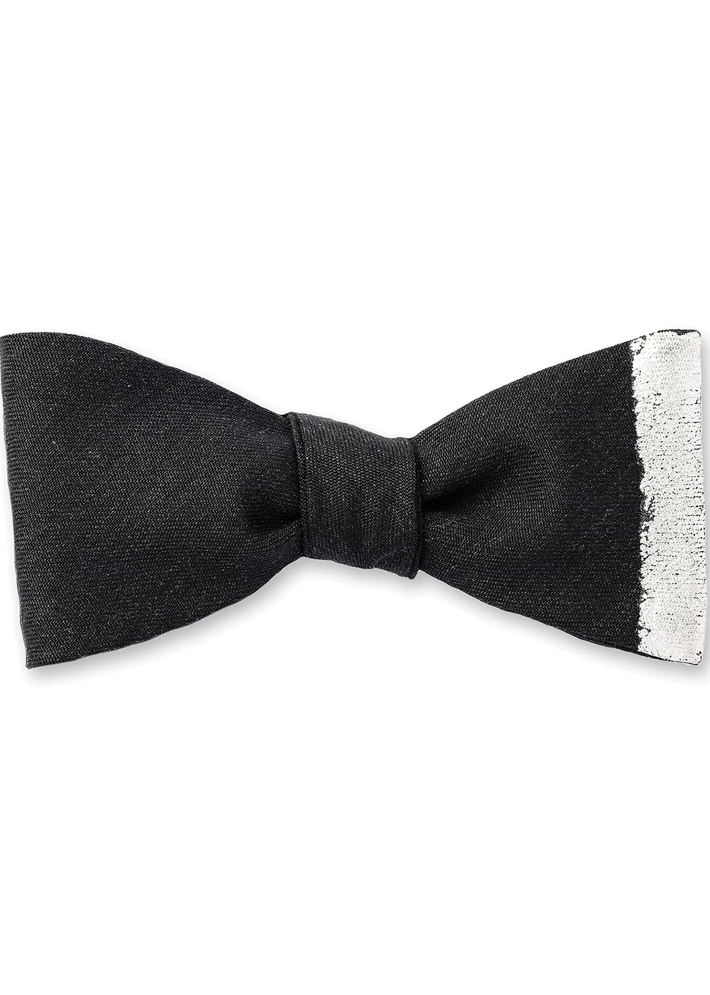 Title of Work Vertical Stripe Bow Tie