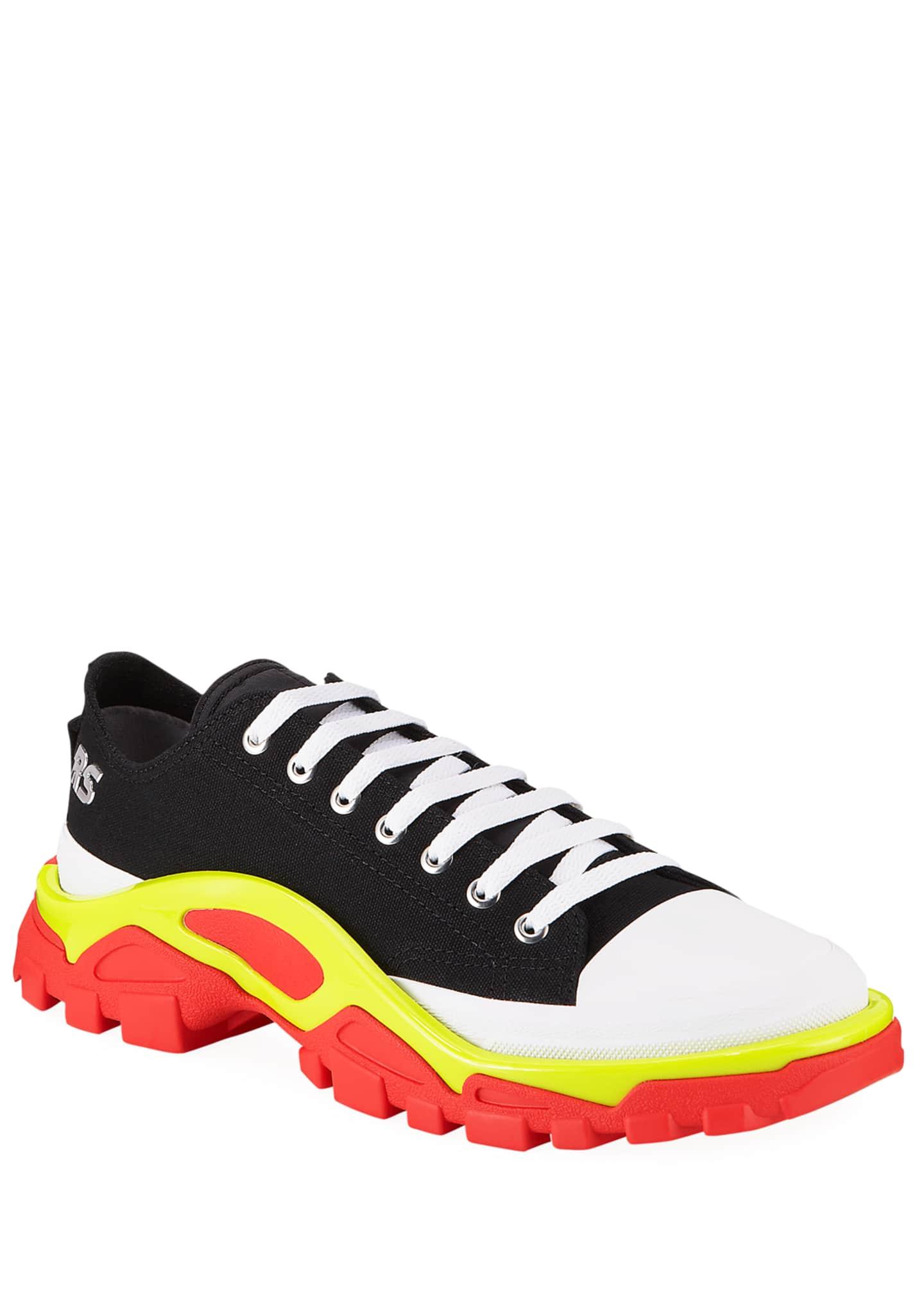adidas by Raf Simons Men's Detroit Runner Canvas
