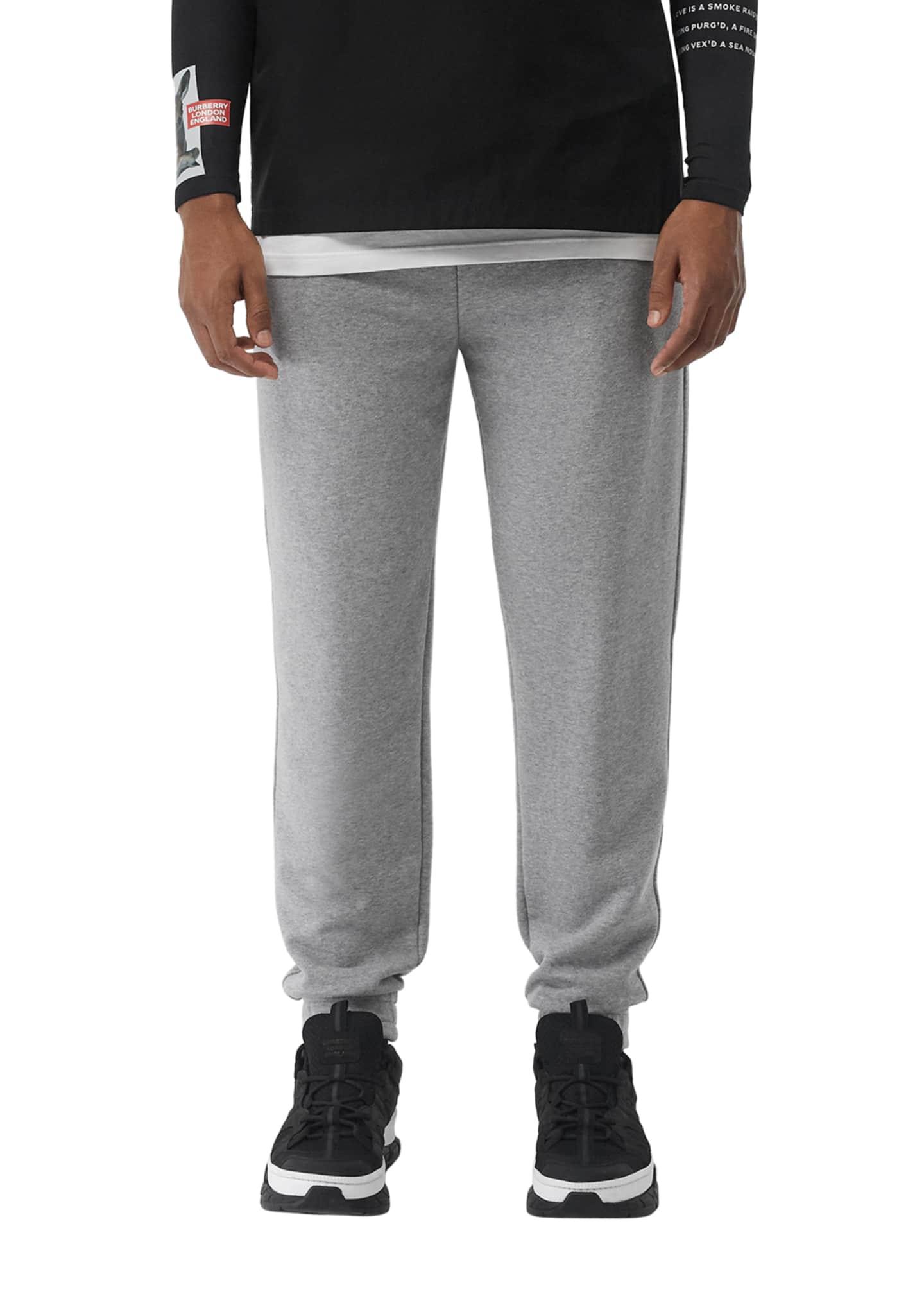 Burberry Men's Oliver Cotton Sweatpants