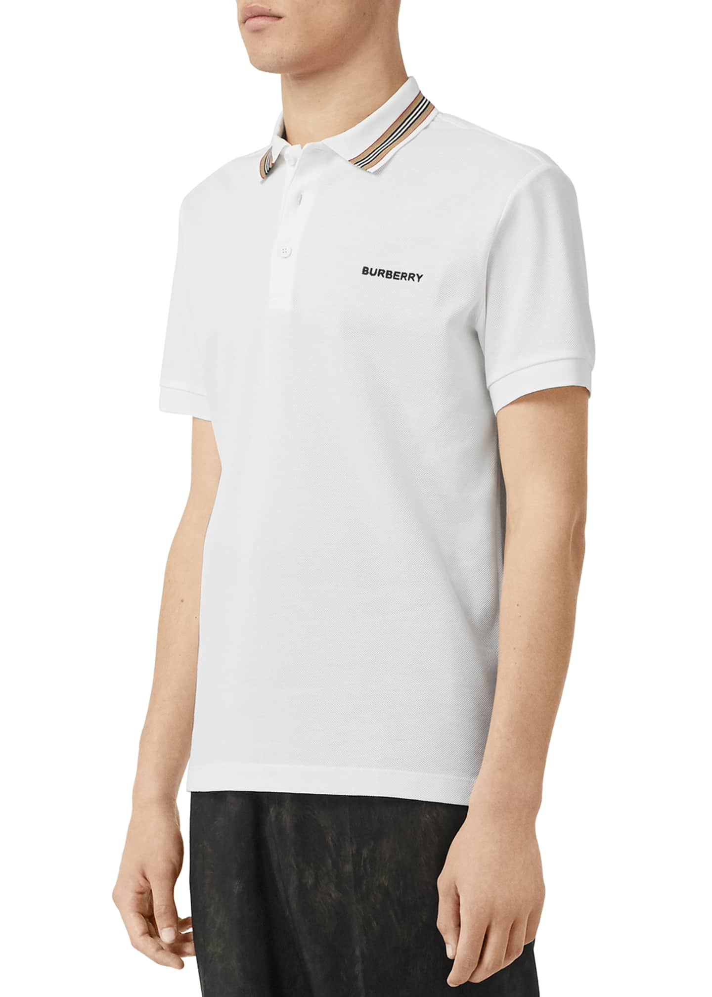Image 3 of 4: Men's Johnston Contrast-Trim Polo Shirt