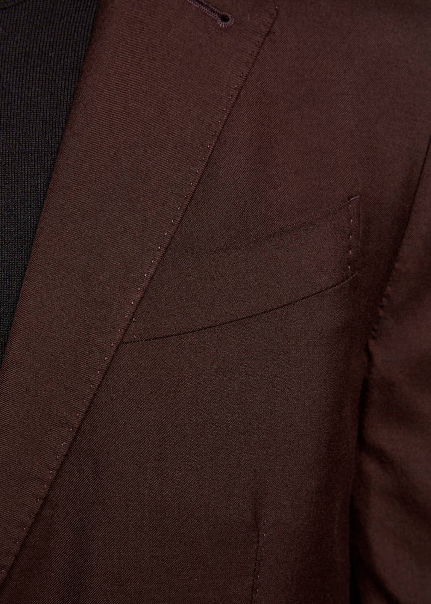 Image 3 of 3: Men's Cashmere/Silk Two-Button Regular-Fit Jacket