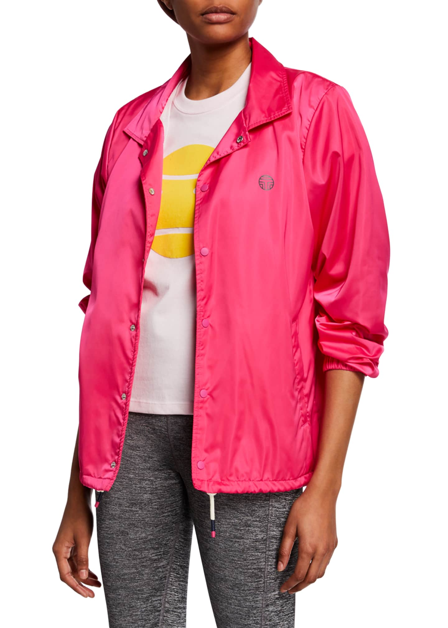 Tory Sport GoodSport Satin Warm-Up Jacket