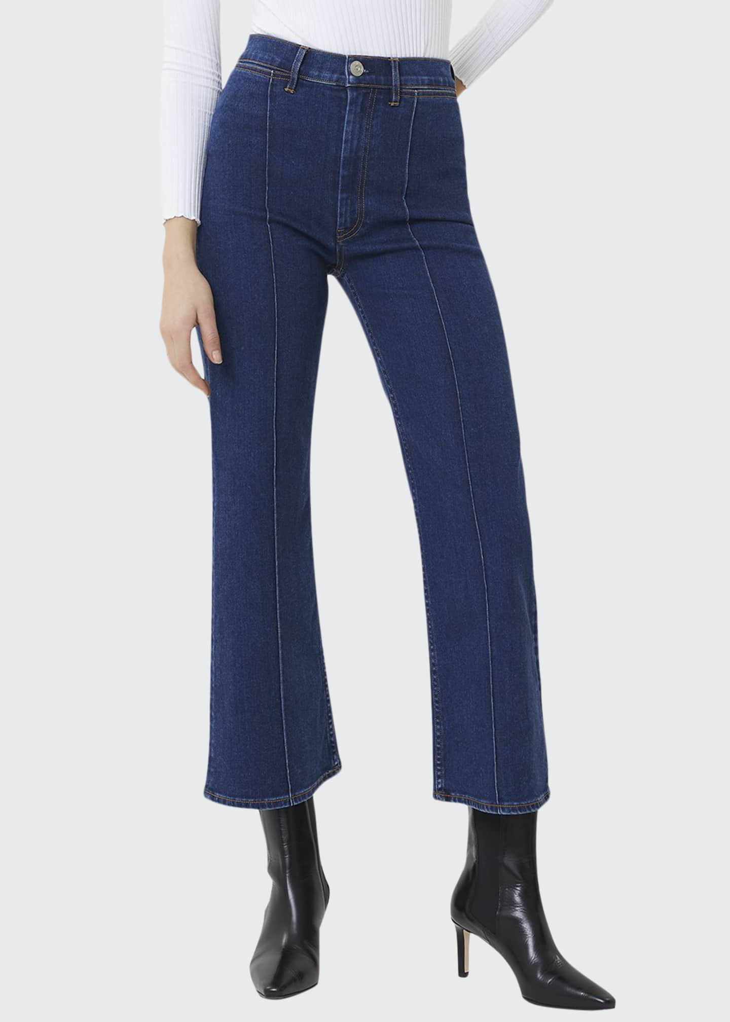 3x1 Nicolette Cropped Flare Jeans