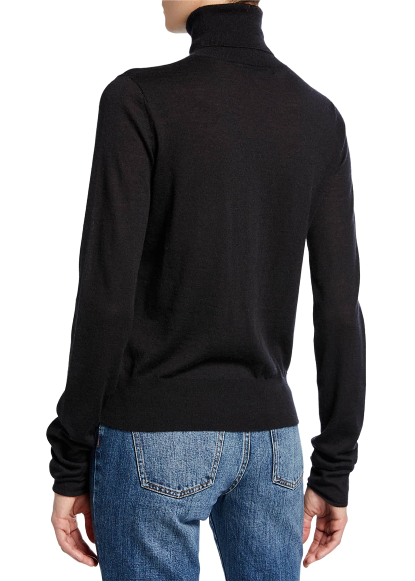 Image 2 of 2: Cashmere Turtleneck Sweater